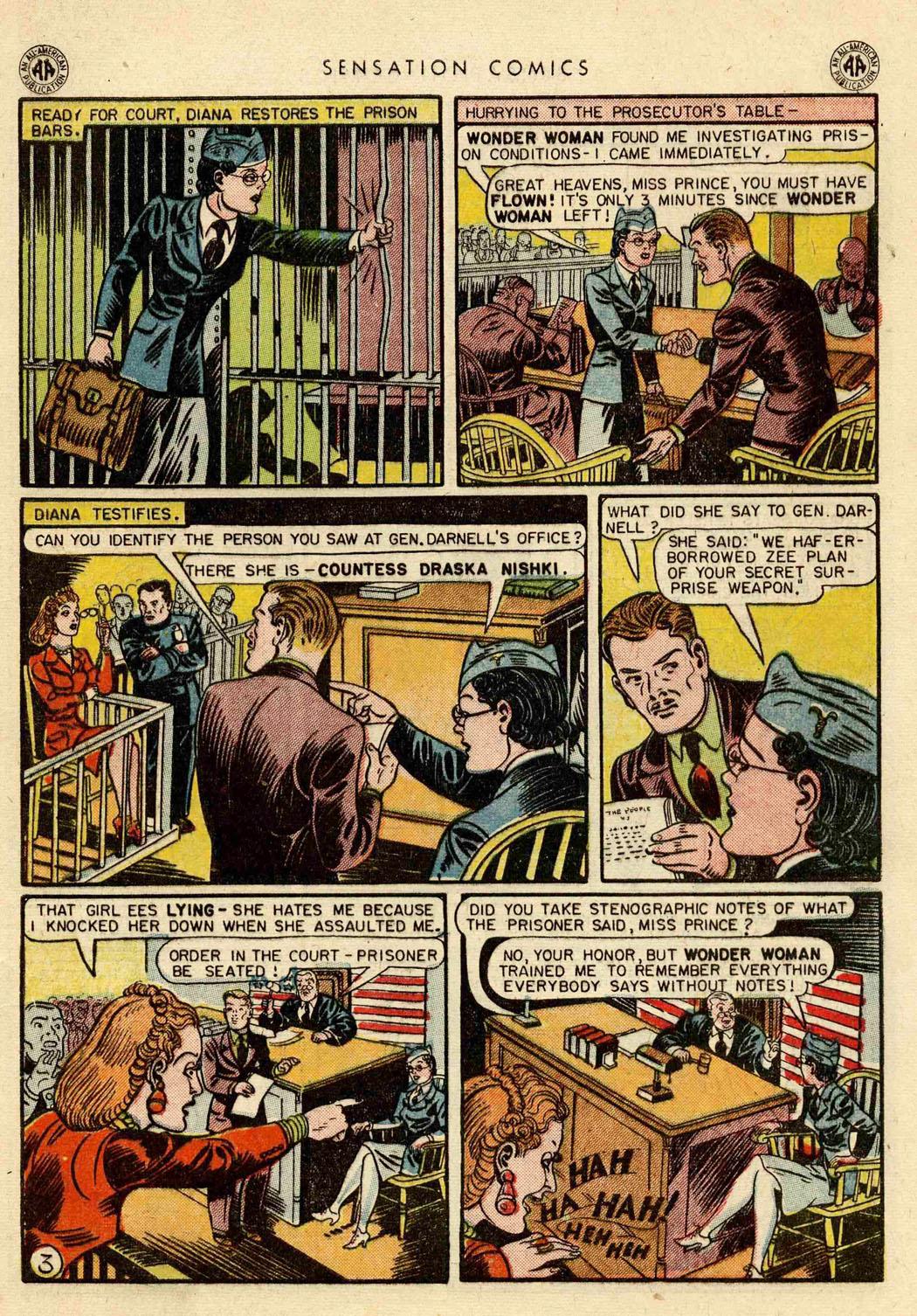 Read online Sensation (Mystery) Comics comic -  Issue #42 - 5