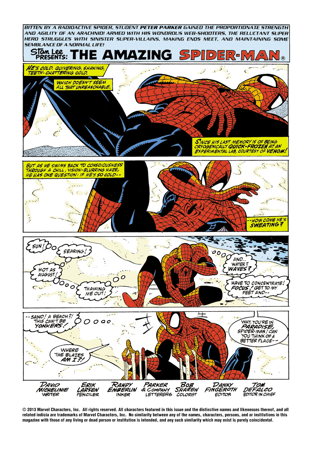The Amazing Spider-Man (1963) 347 Page 1