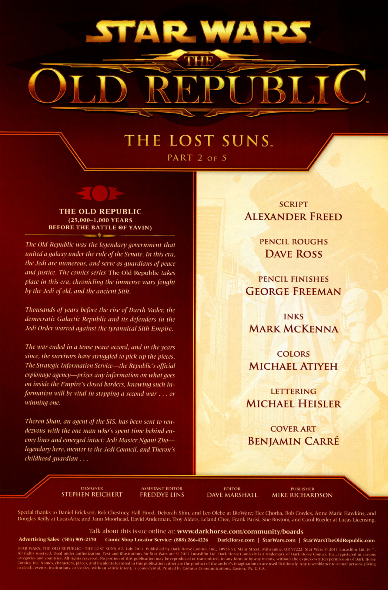 Read online Star Wars: The Old Republic - The Lost Suns comic -  Issue #2 - 2