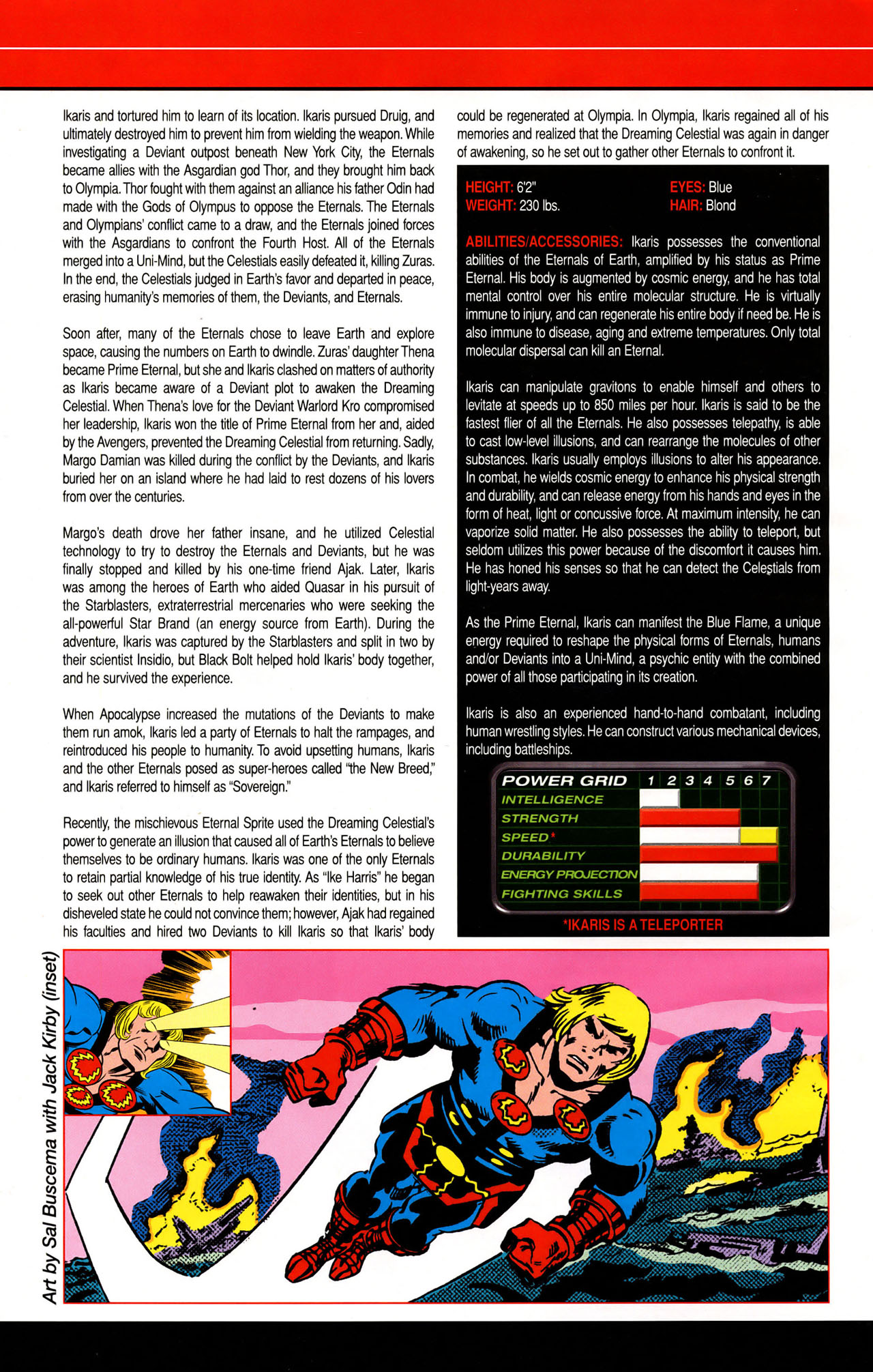 Read online All-New Official Handbook of the Marvel Universe A to Z: Update comic -  Issue #1 - 23