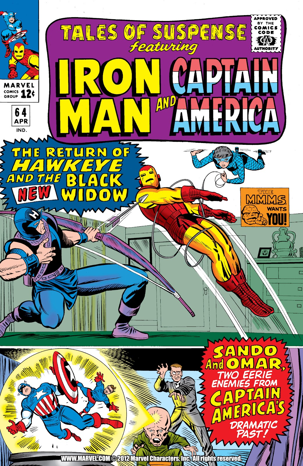 Read online Marvel Masterworks: The Invincible Iron Man comic -  Issue # TPB 2 (Part 3) - 13