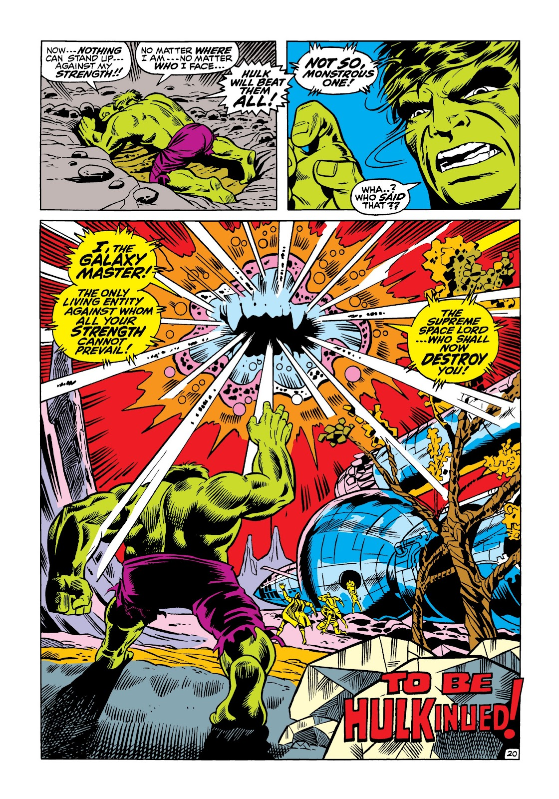 Read online Marvel Masterworks: The Incredible Hulk comic -  Issue # TPB 5 (Part 1) - 26