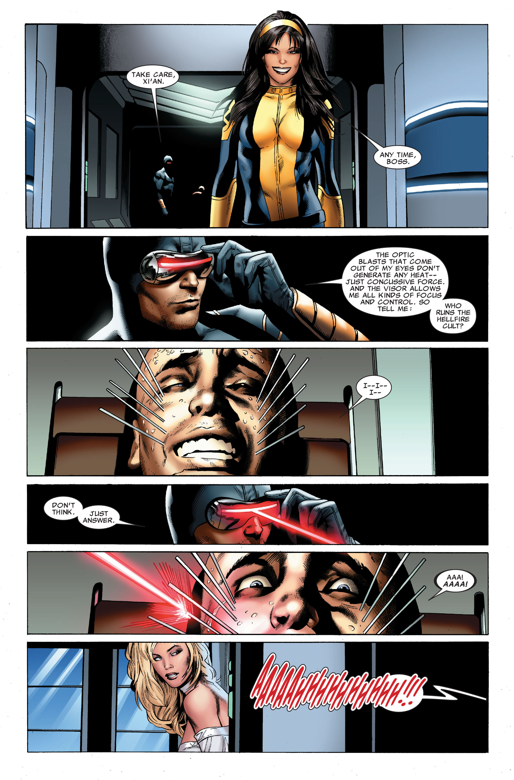 Read online Uncanny X-Men (1963) comic -  Issue #502 - 10