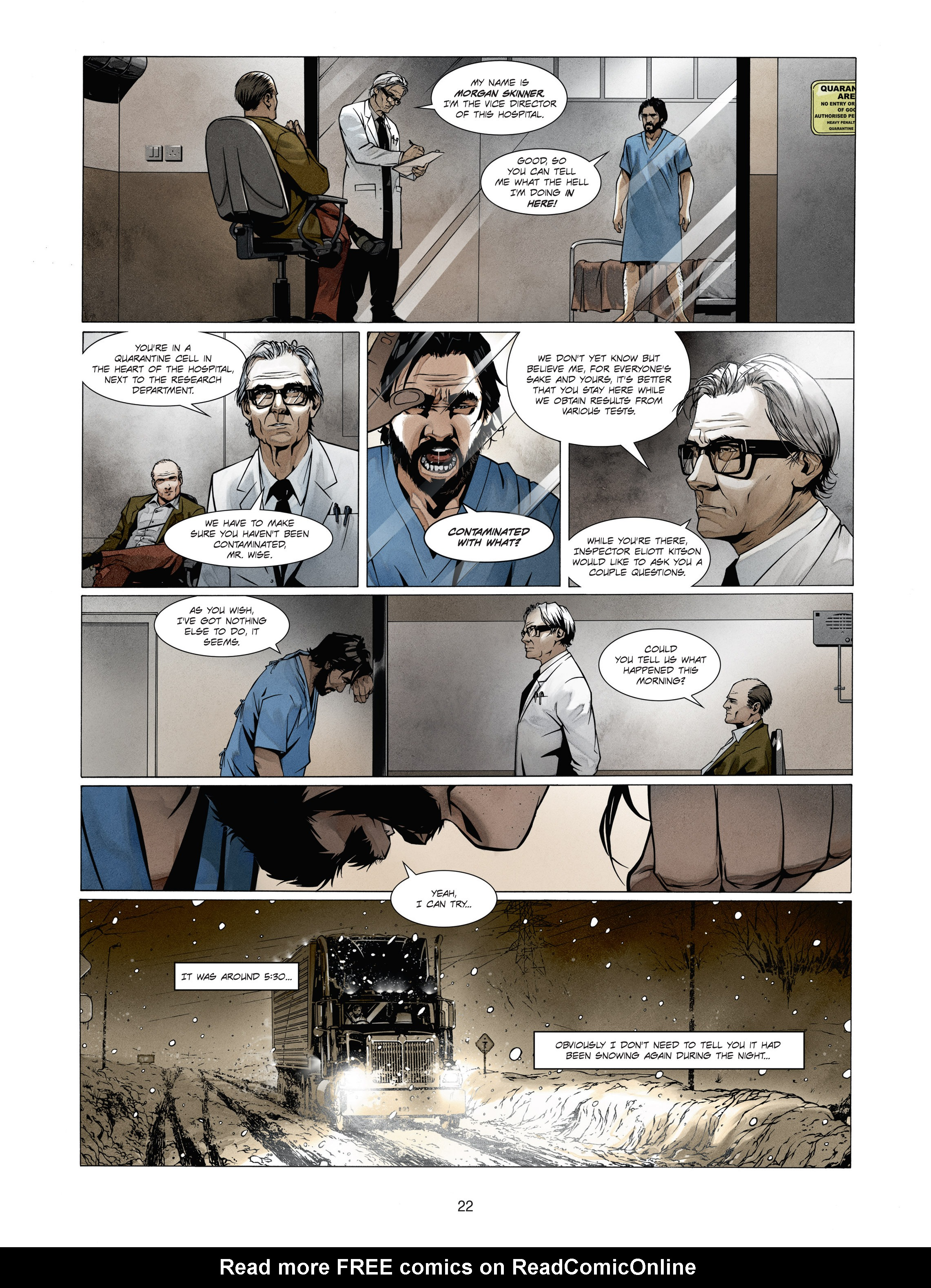 Read online Alice Matheson comic -  Issue #1 - 21