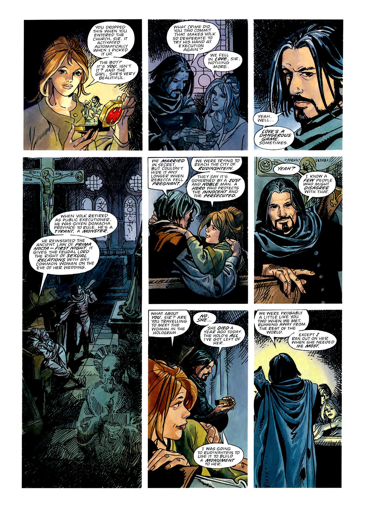 Read online Nikolai Dante comic -  Issue # TPB 3 - 53