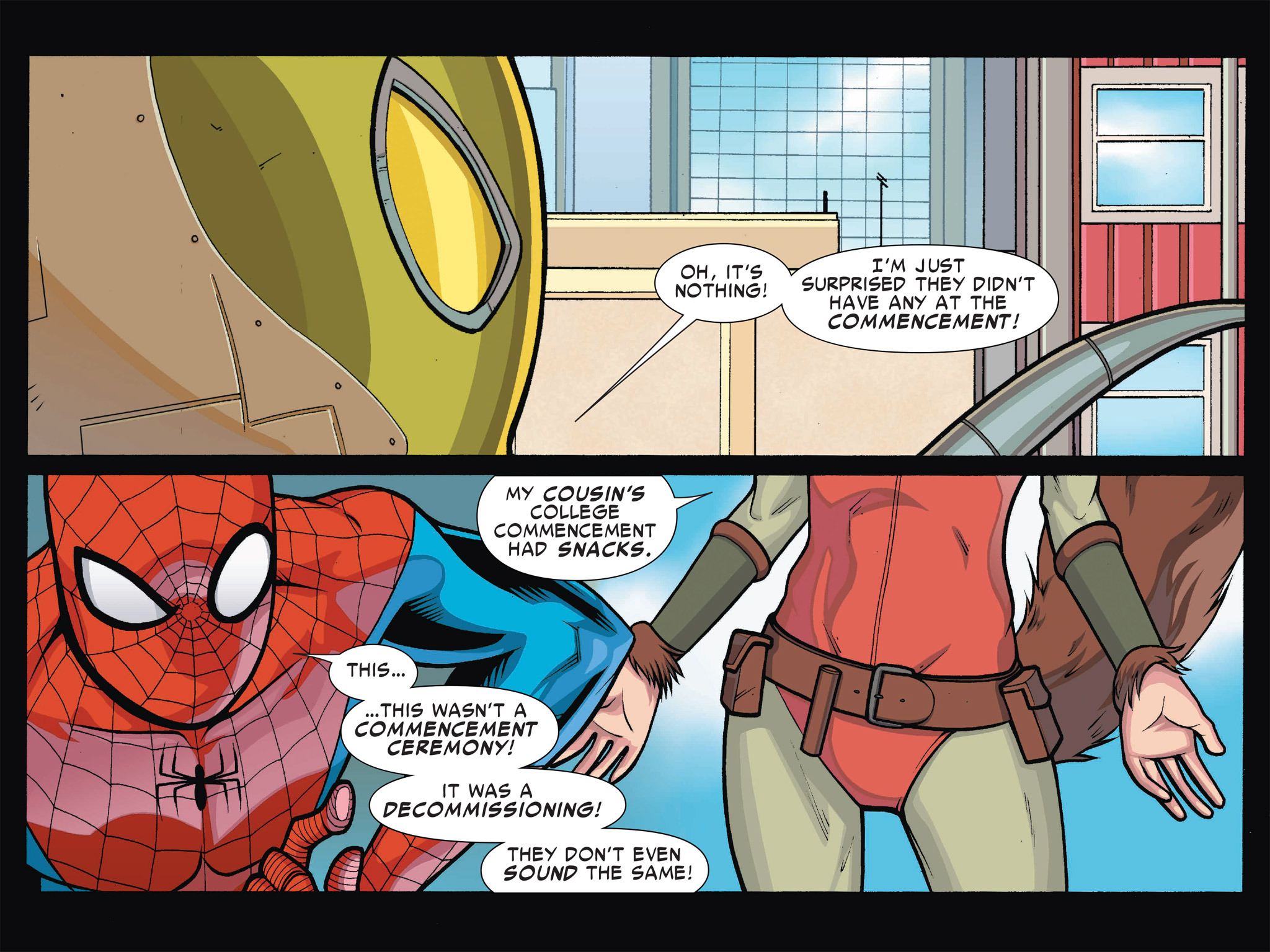 Read online Ultimate Spider-Man (Infinite Comics) (2016) comic -  Issue #1 - 12