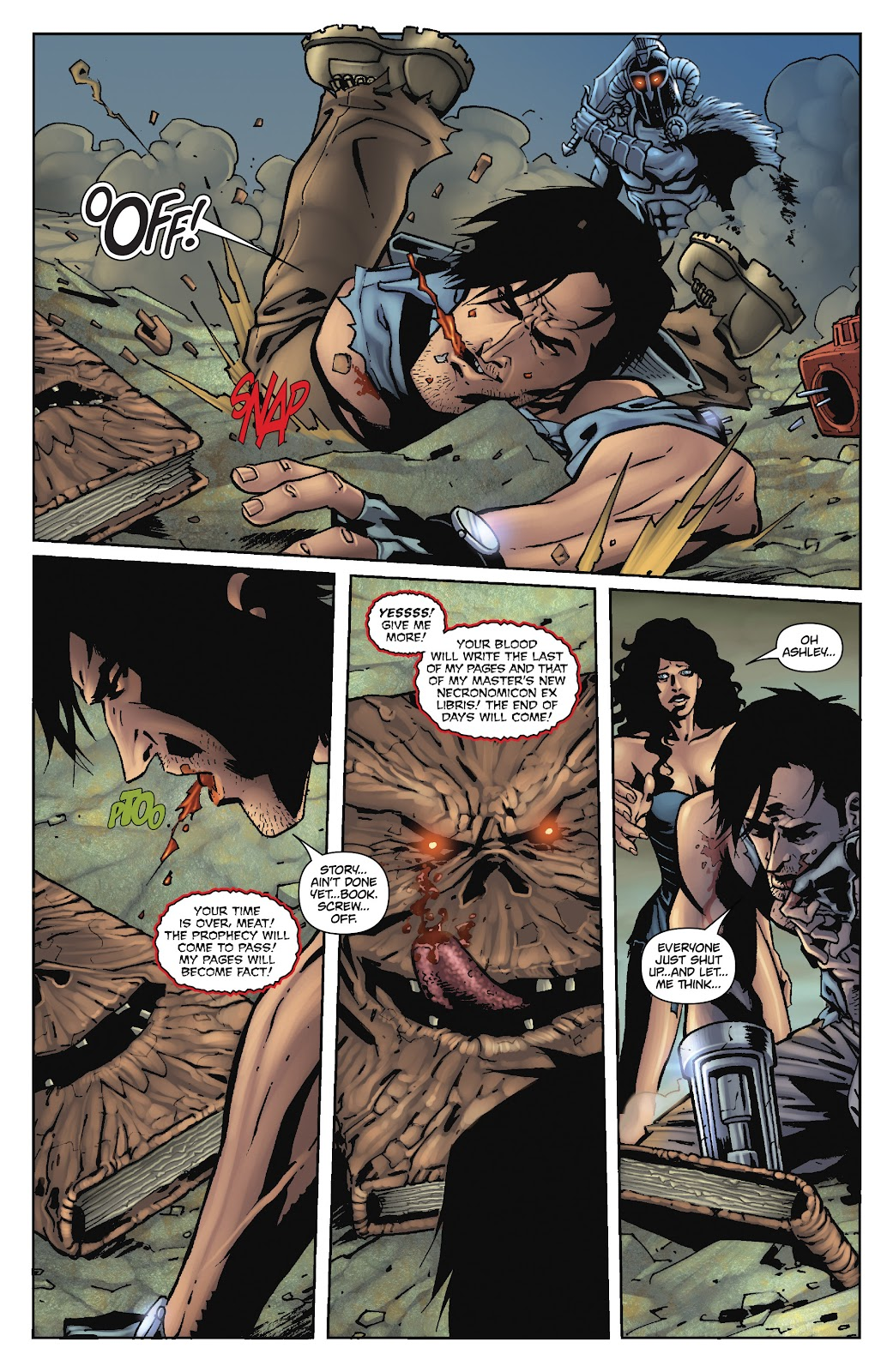 Army of Darkness: The Long Road Home issue TPB - Page 98