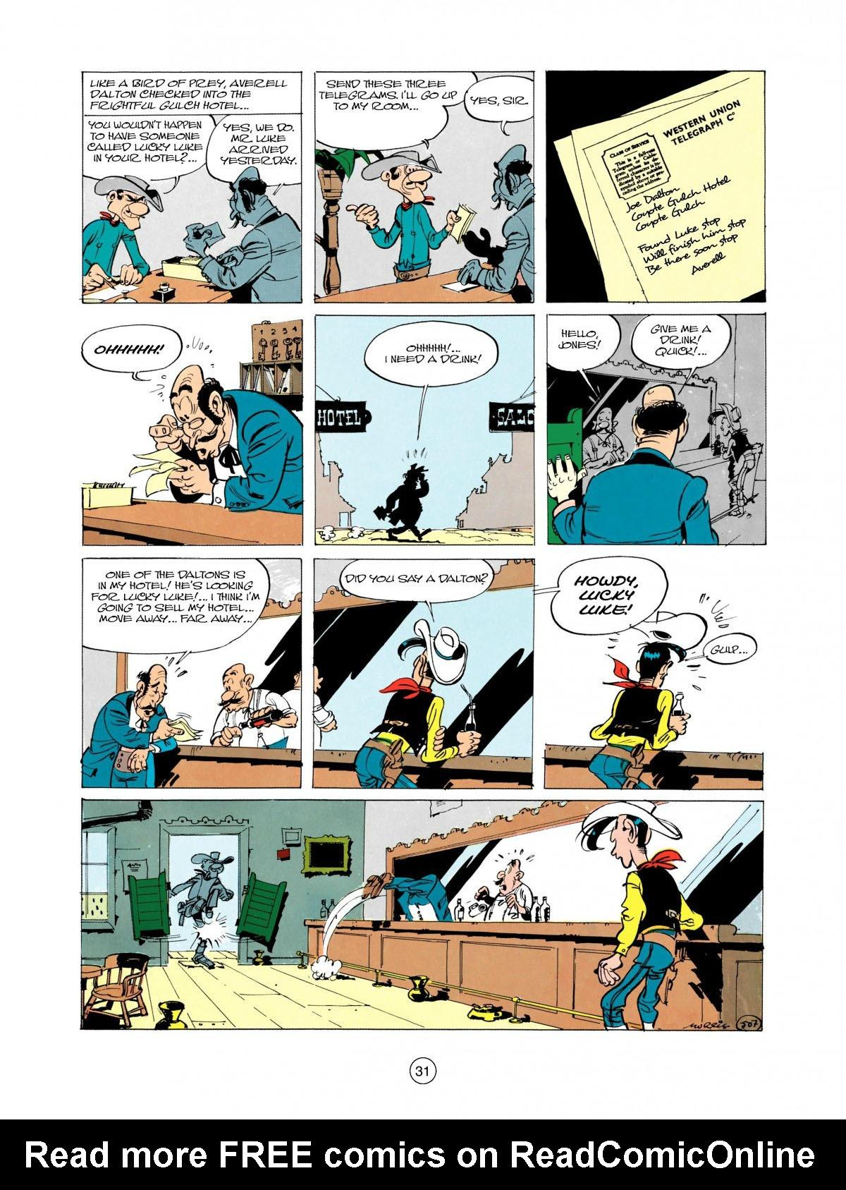 Read online A Lucky Luke Adventure comic -  Issue #28 - 32