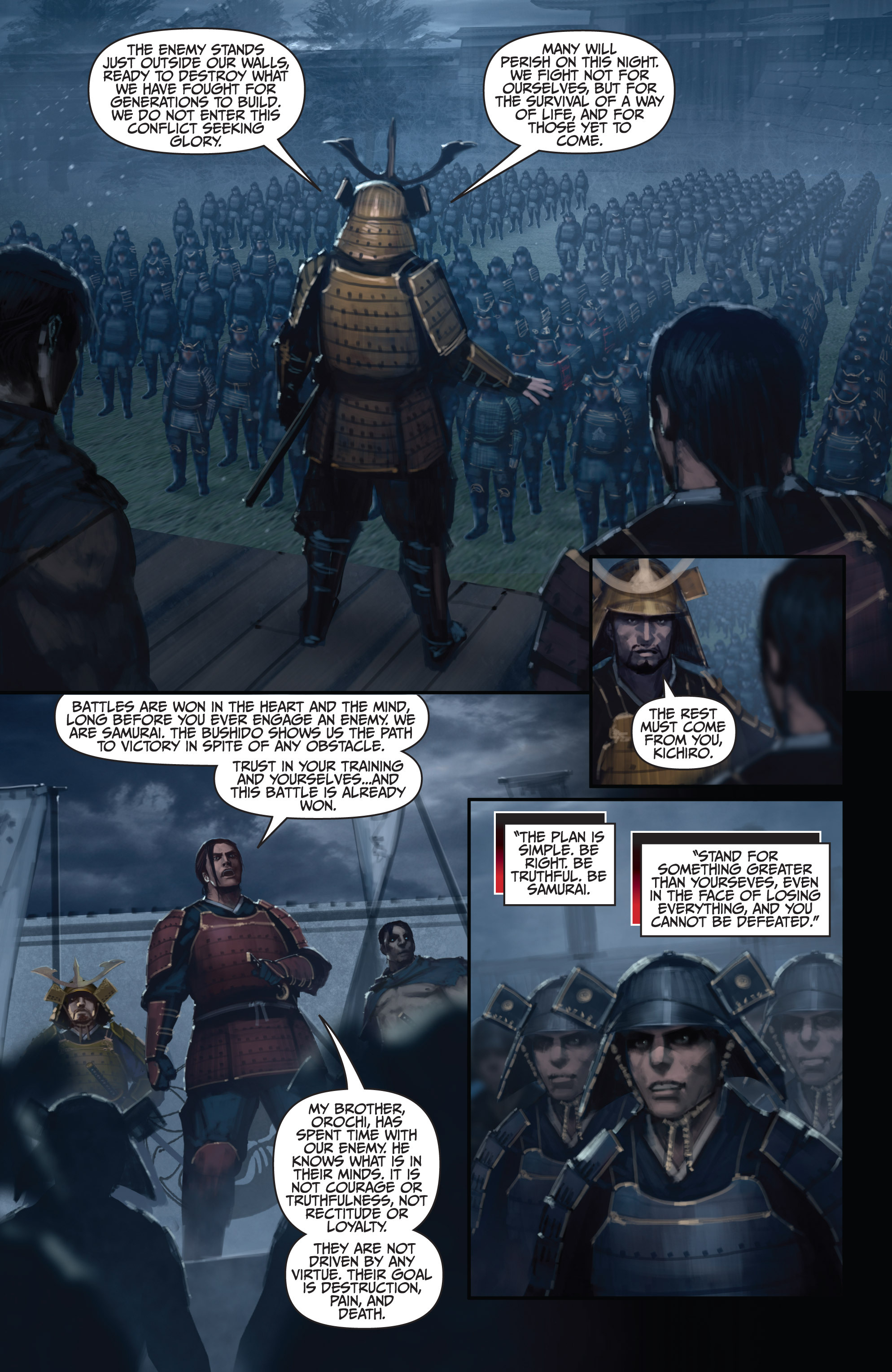 Read online Bushido: The Way of the Warrior comic -  Issue #5 - 9
