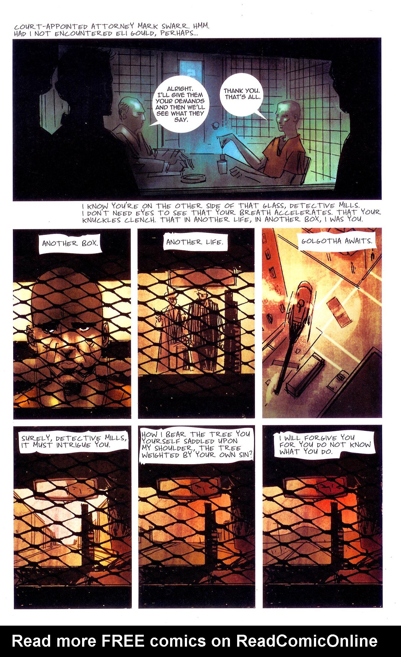 Read online Se7en comic -  Issue #7 - 11
