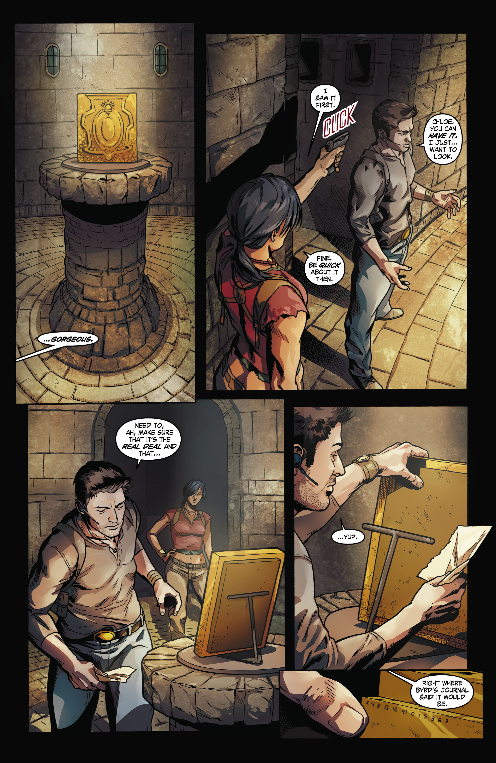 Read online Uncharted comic -  Issue #2 - 11