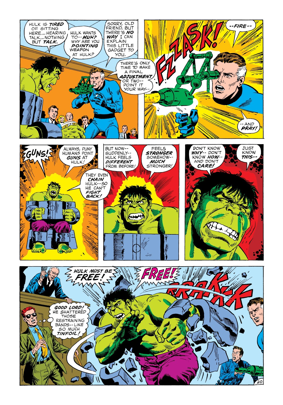 Read online Marvel Masterworks: The Incredible Hulk comic -  Issue # TPB 8 (Part 3) - 16