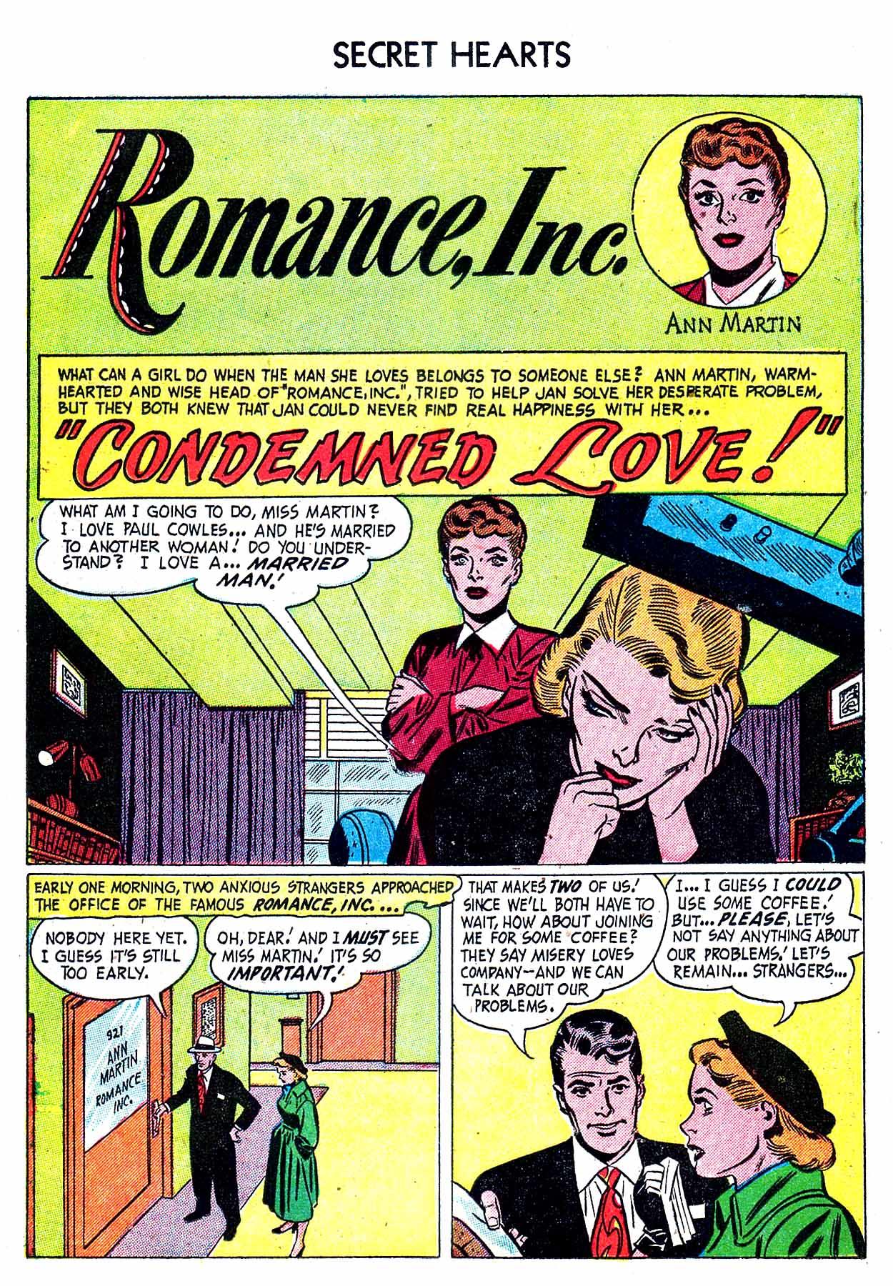 Read online Secret Hearts comic -  Issue #8 - 11