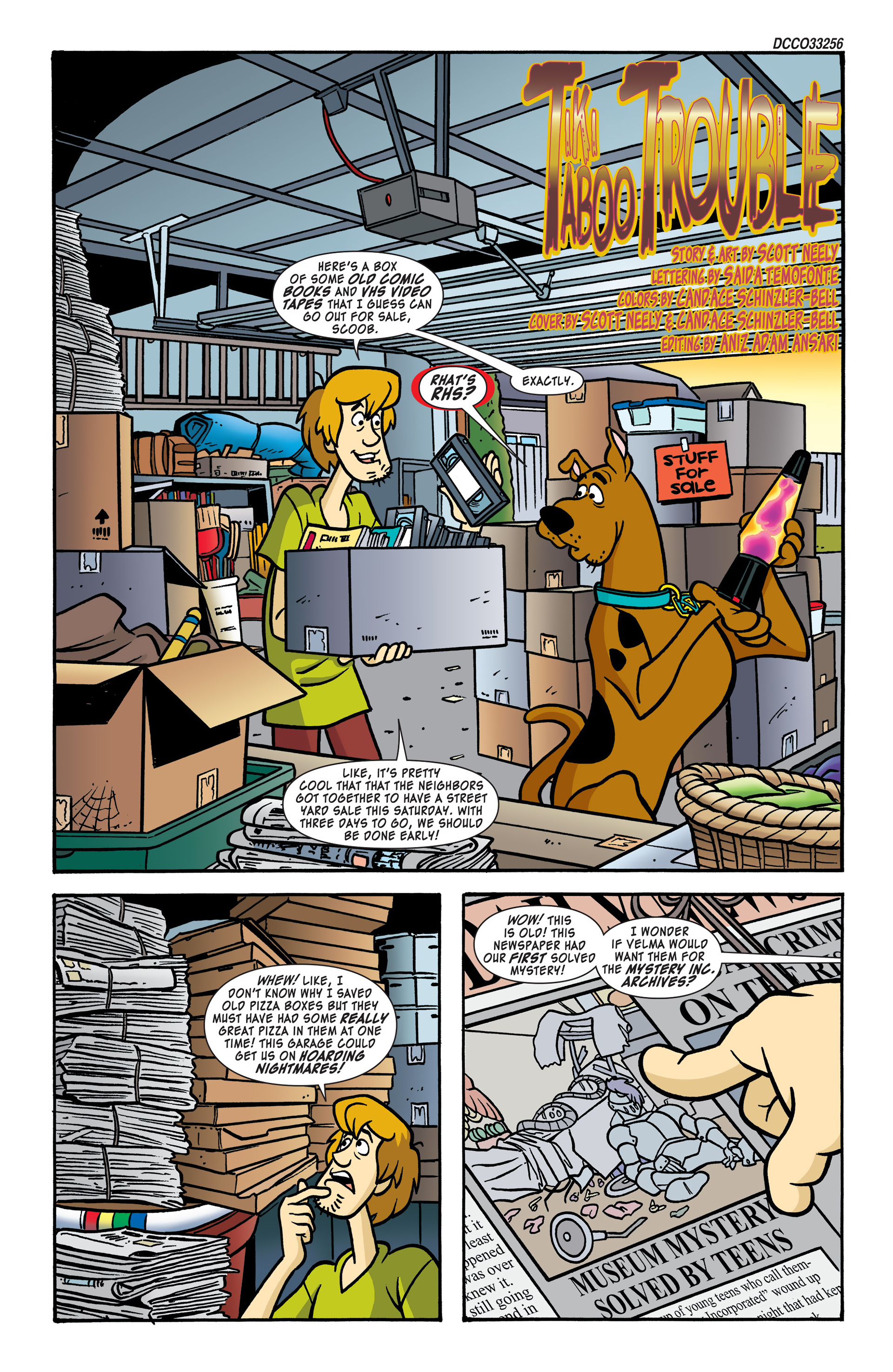 Read online Scooby-Doo: Where Are You? comic -  Issue #48 - 2