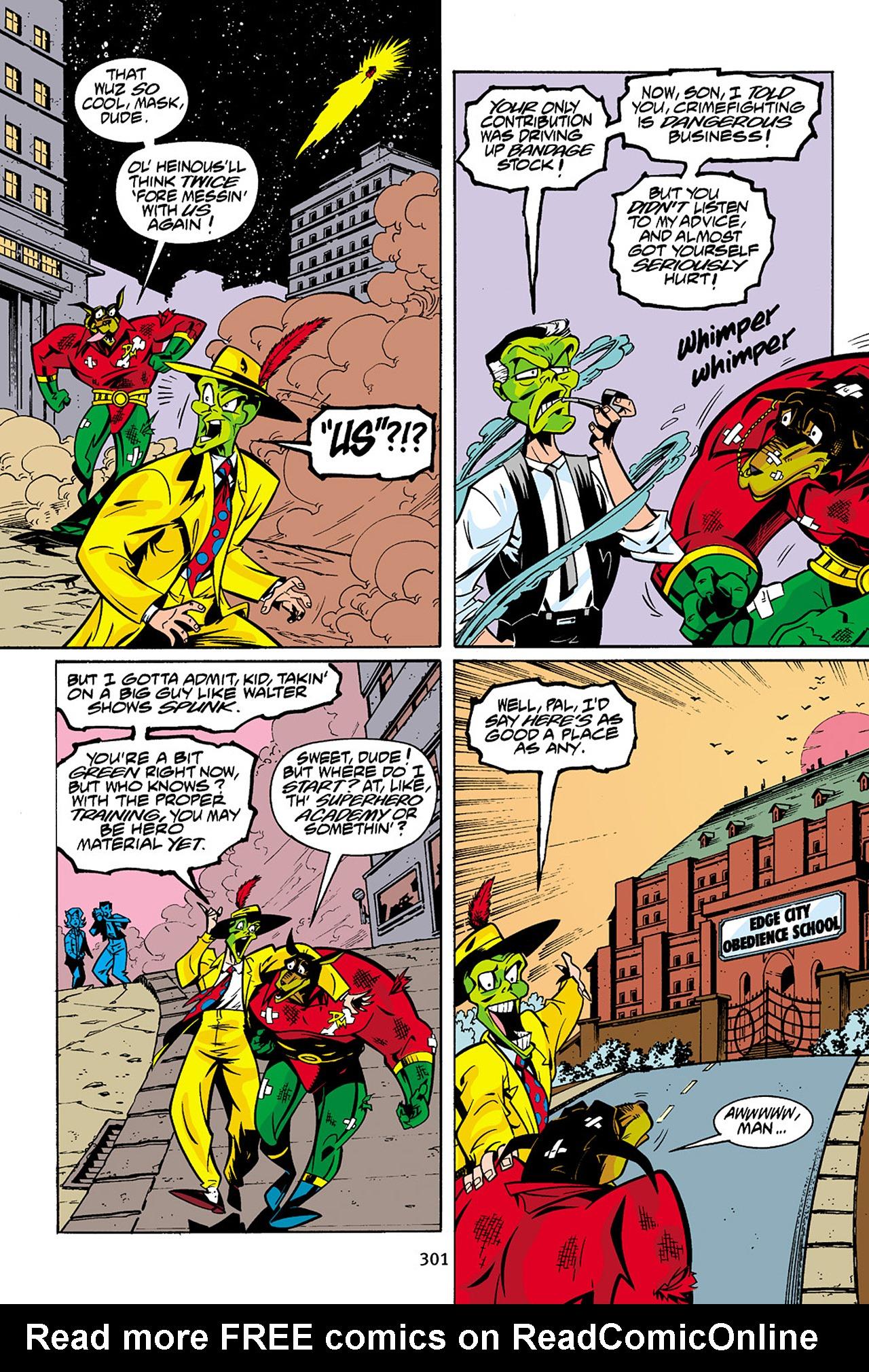 Read online Adventures Of The Mask Omnibus comic -  Issue #Adventures Of The Mask Omnibus Full - 300