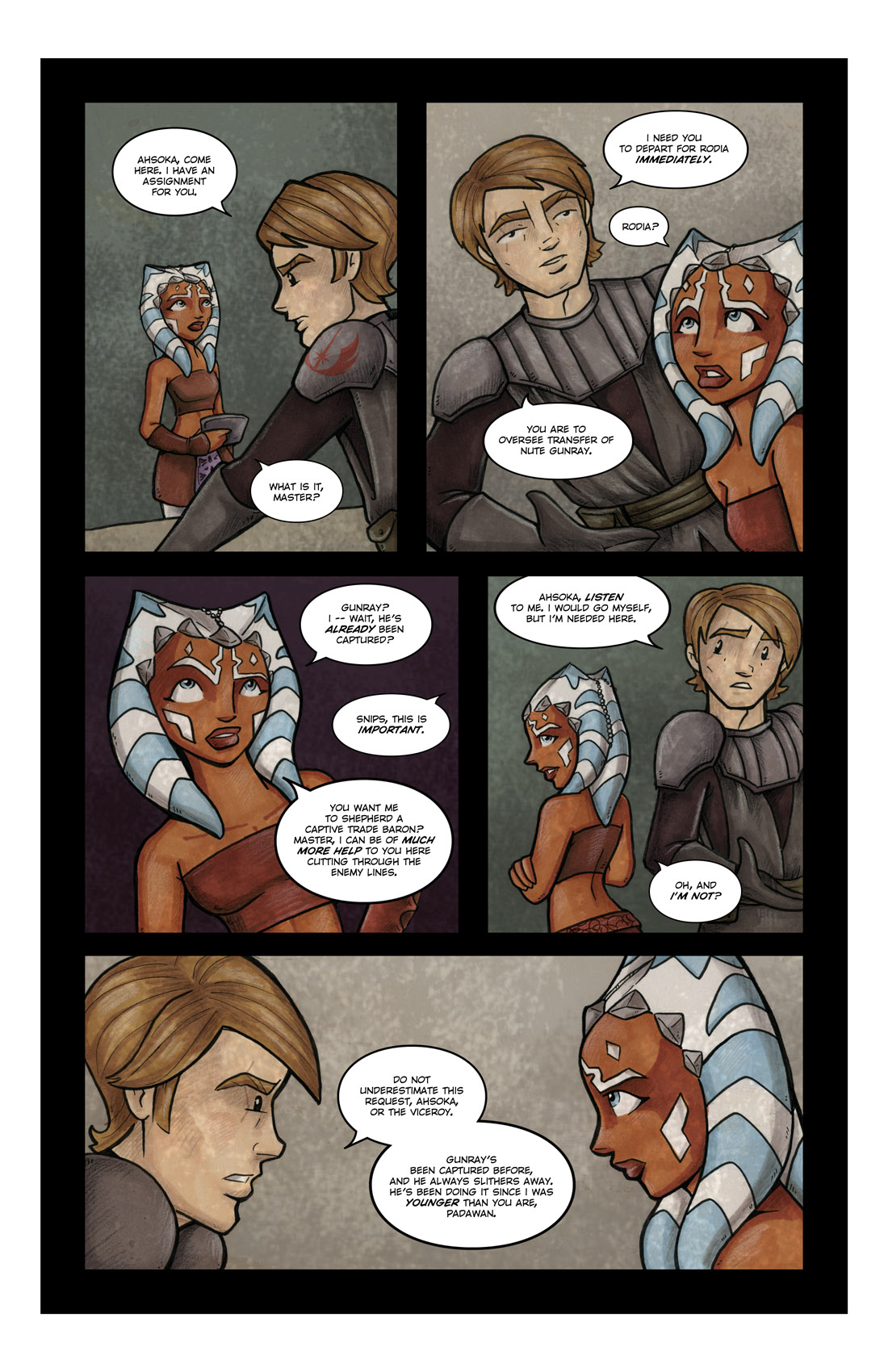 Read online Star Wars: Tales From The Clone Wars comic -  Issue # TPB - 63