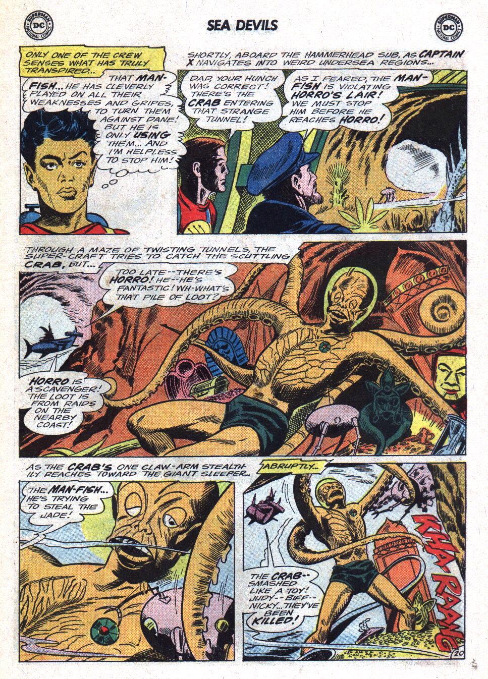 Read online Sea Devils comic -  Issue #22 - 27