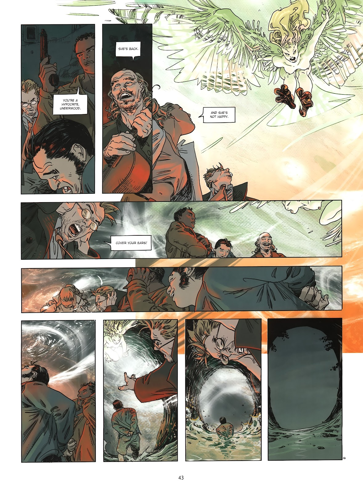 Read online Cutting Edge (2013) comic -  Issue #2 - 42