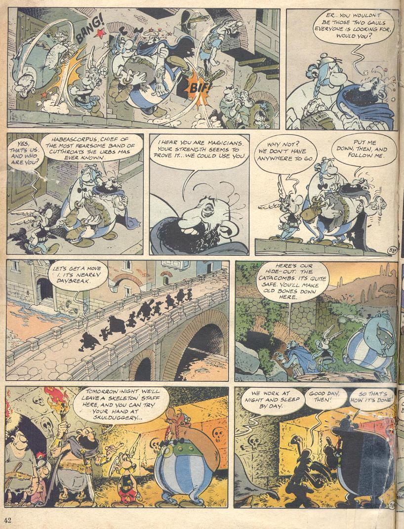Read online Asterix comic -  Issue #18 - 40
