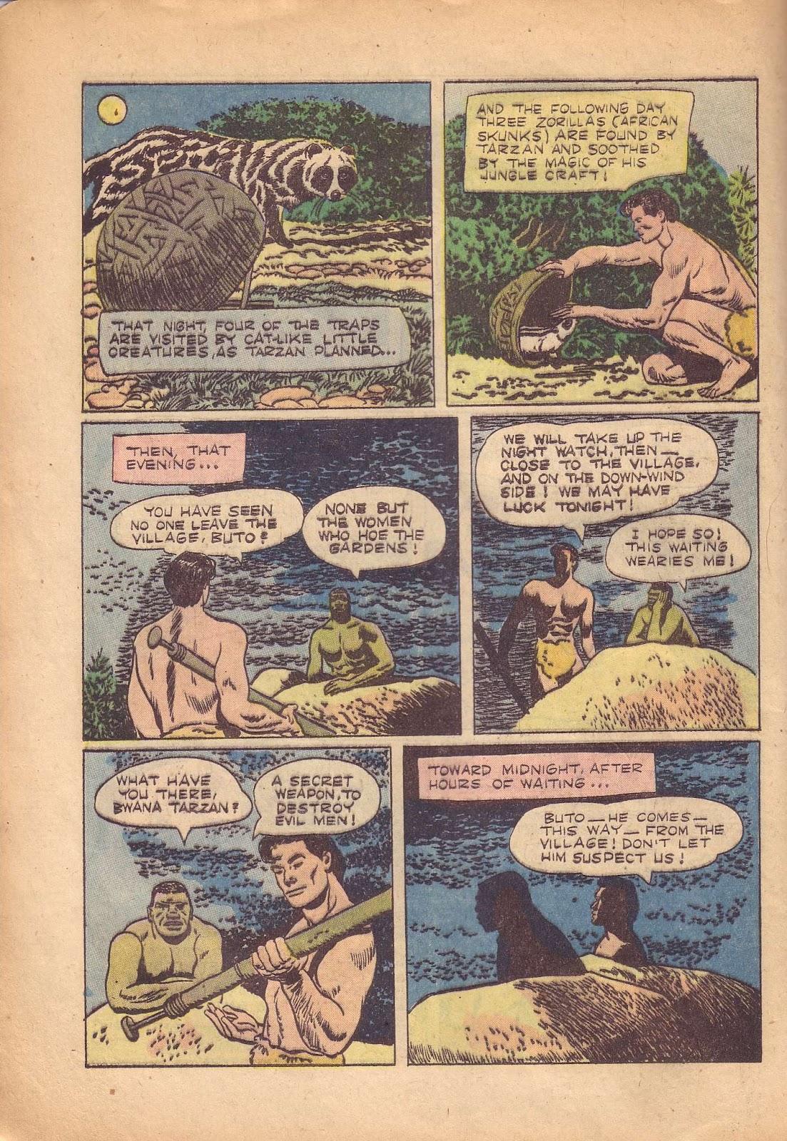 Tarzan (1948) issue 50 - Page 36