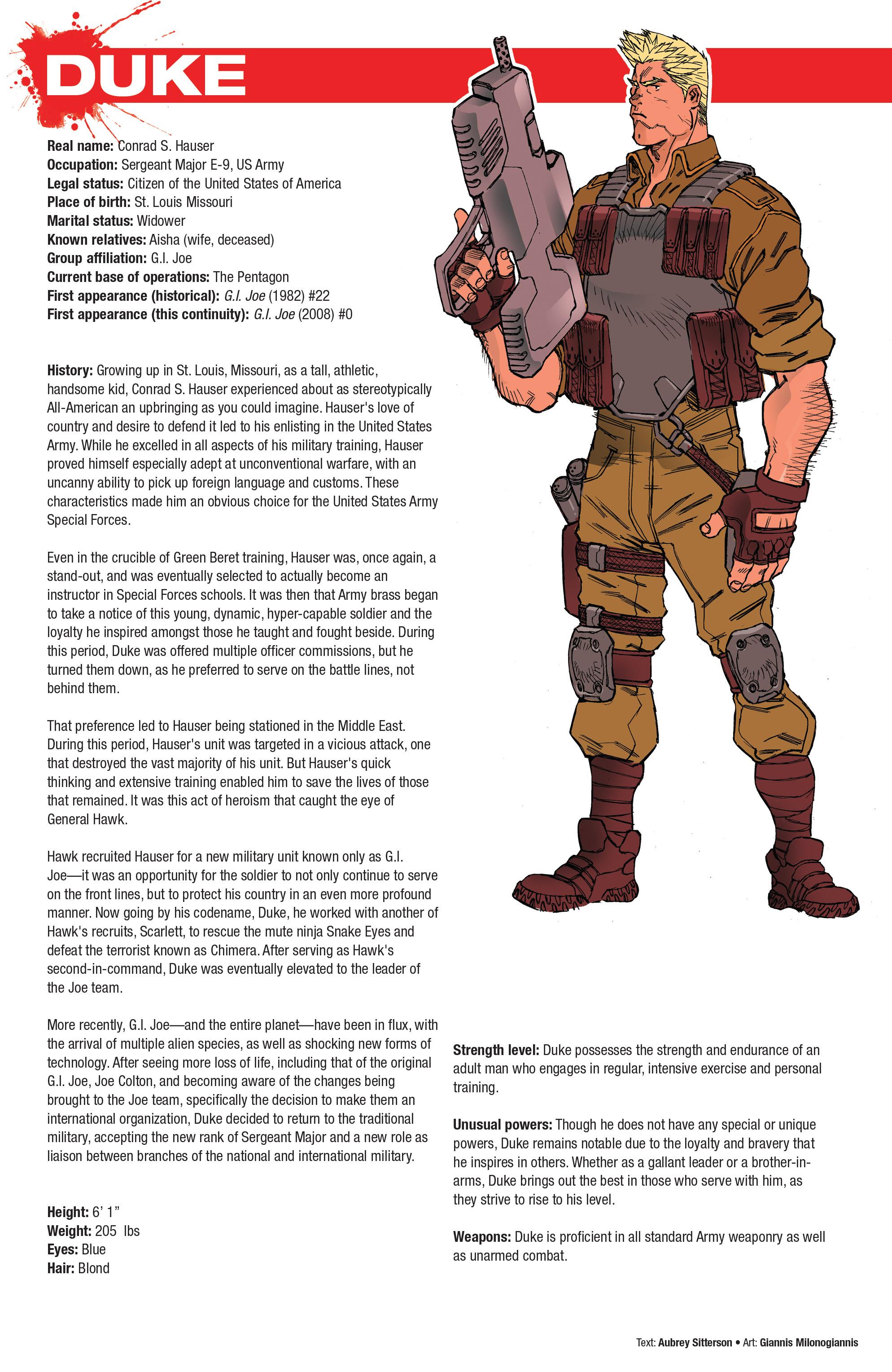 Read online Hasbro Heroes Sourcebook comic -  Issue #1 - 37