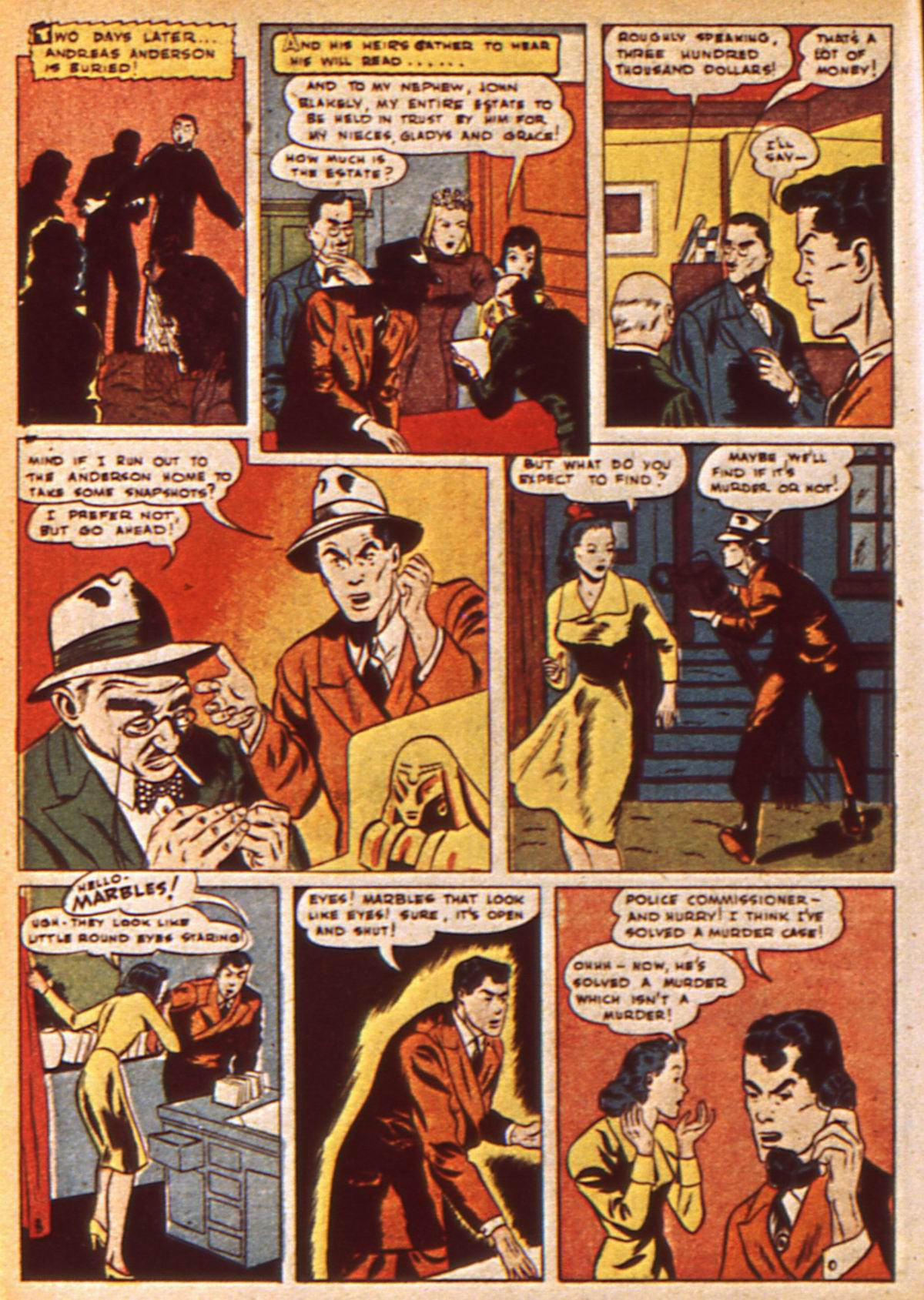 Read online Detective Comics (1937) comic -  Issue #47 - 54