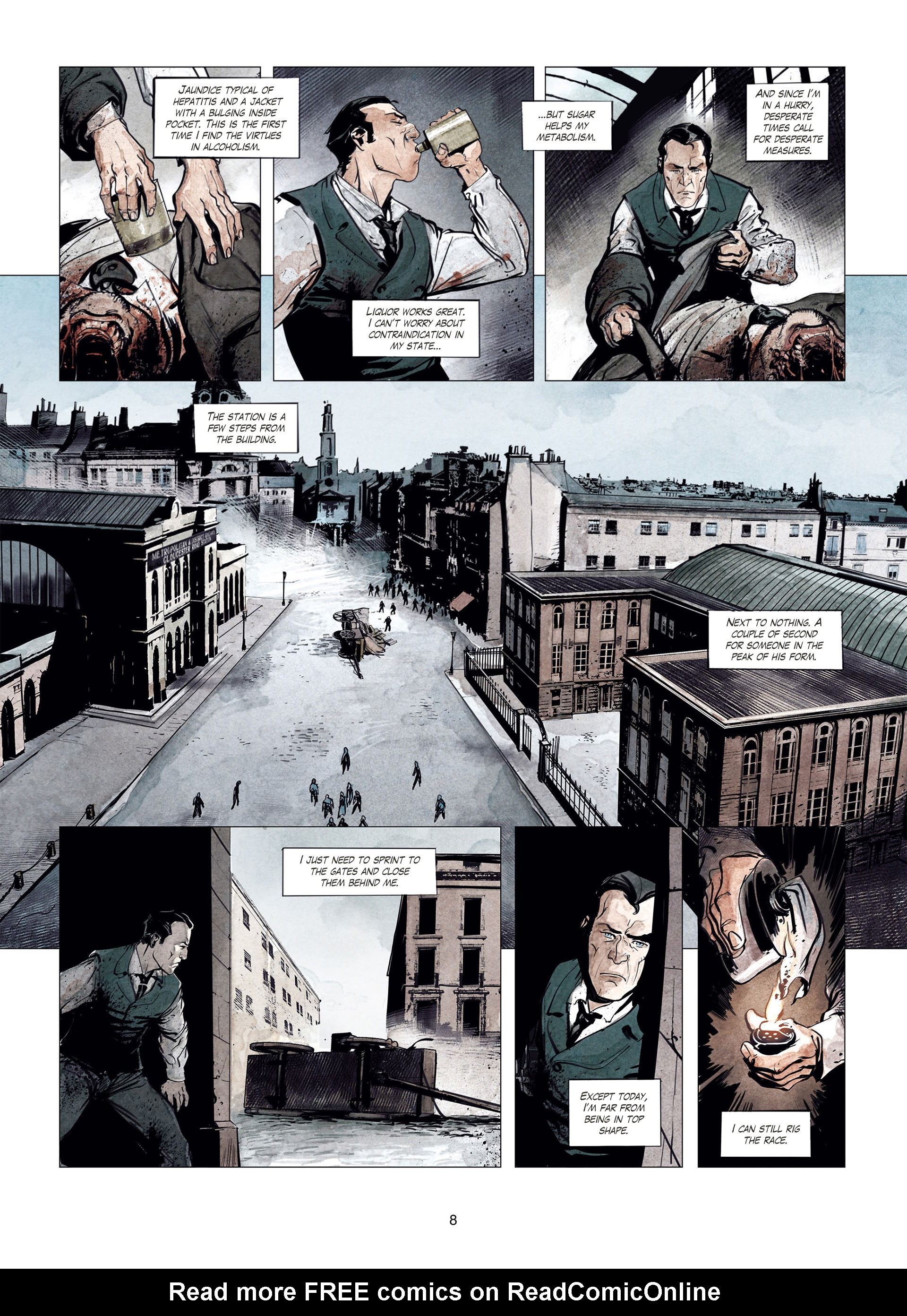 Read online Sherlock Holmes Society Tome 4 : Contamination comic -  Issue # Full - 8