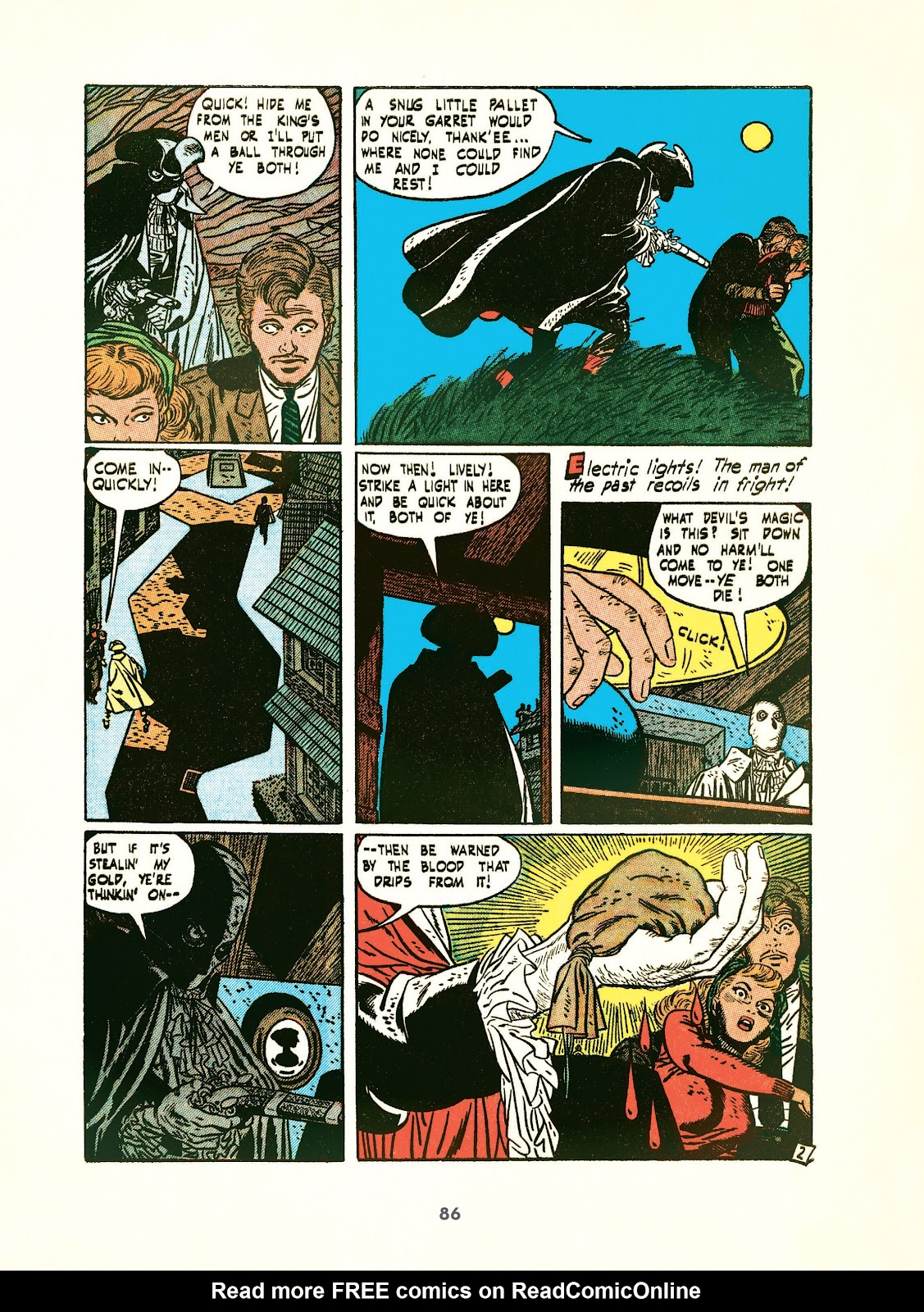 Read online Setting the Standard: Comics by Alex Toth 1952-1954 comic -  Issue # TPB (Part 1) - 85