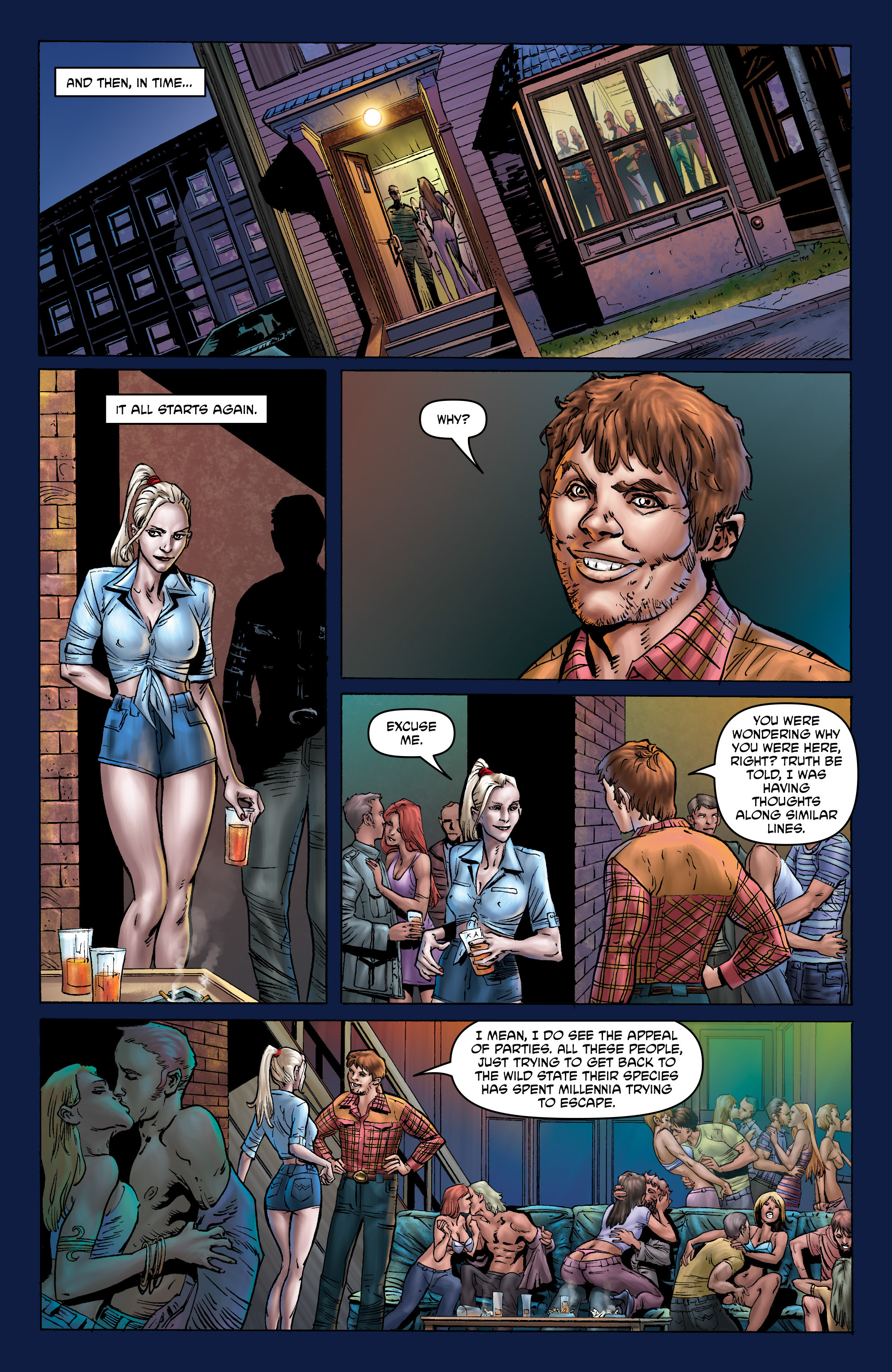 Read online God is Dead: Book of Acts comic -  Issue # Omega - 42