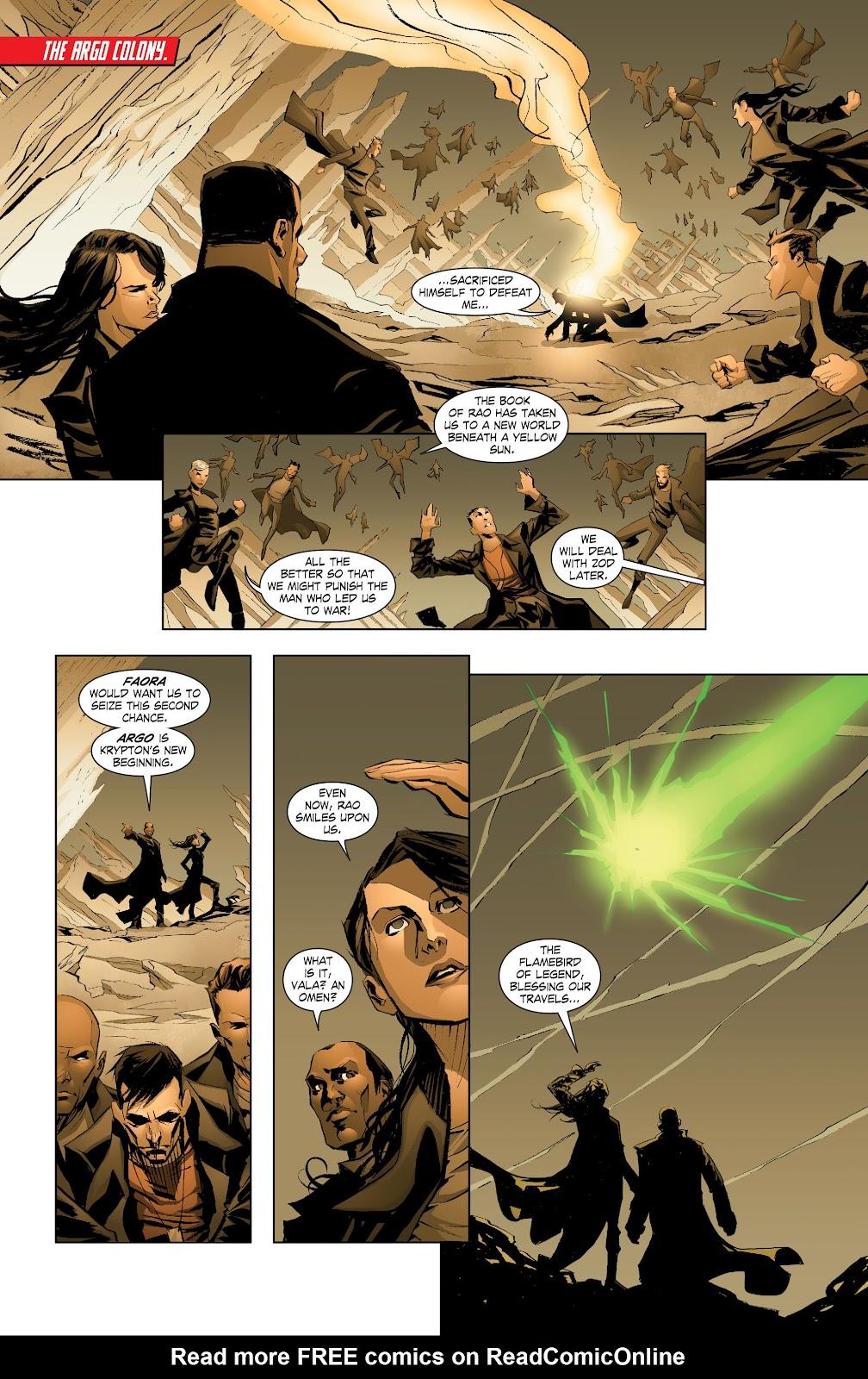 Read online Smallville Season 11 [II] comic -  Issue # TPB 7 - 8