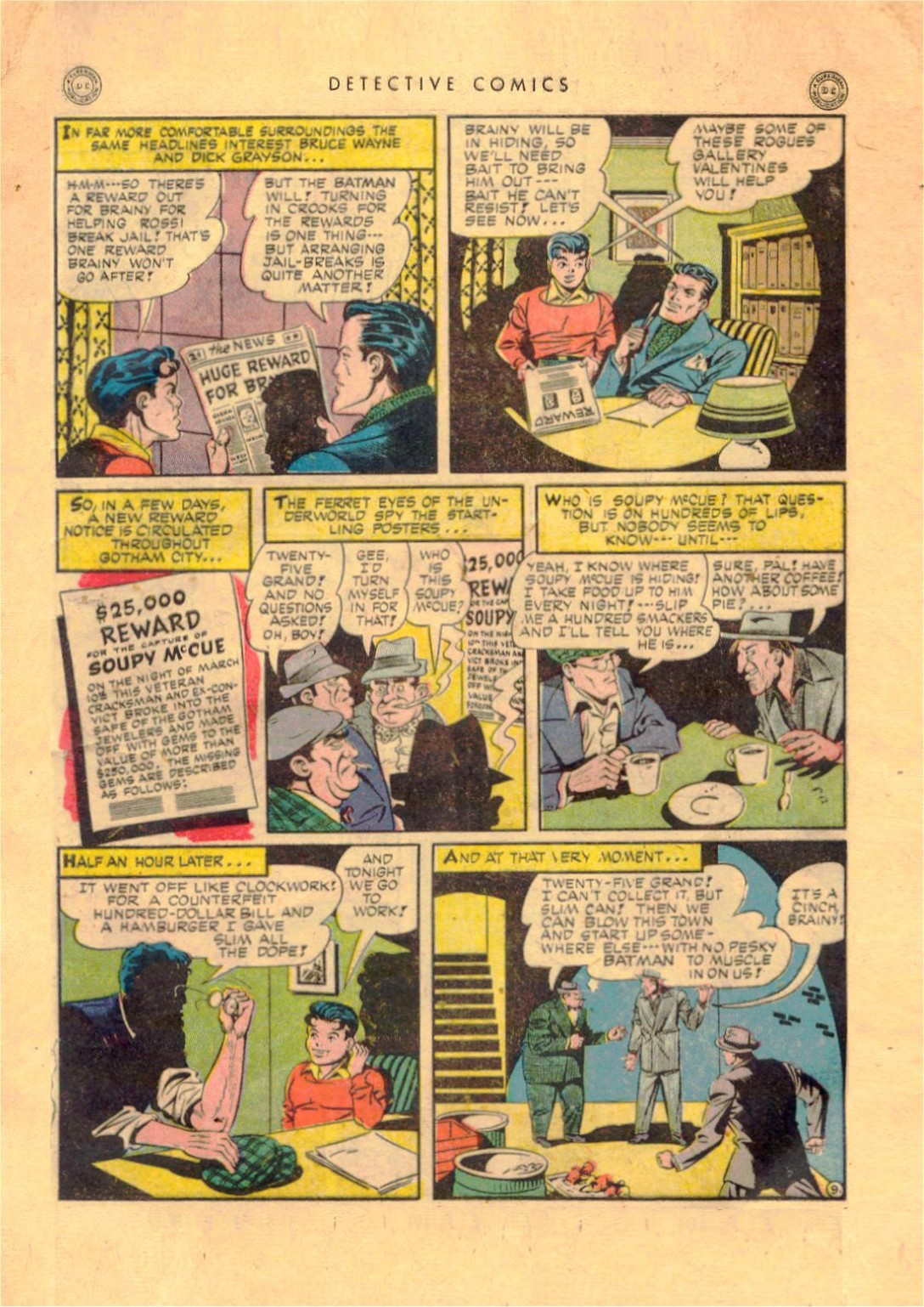 Read online Detective Comics (1937) comic -  Issue #92 - 11