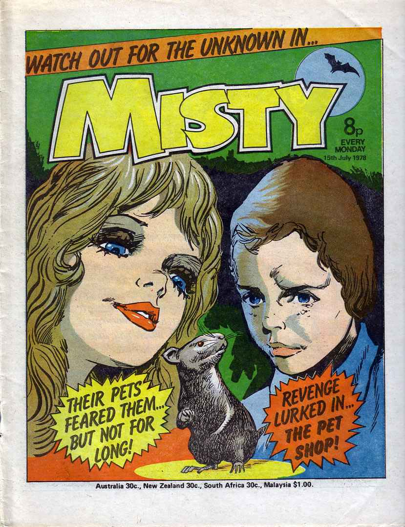 Read online Misty comic -  Issue #24 - 1