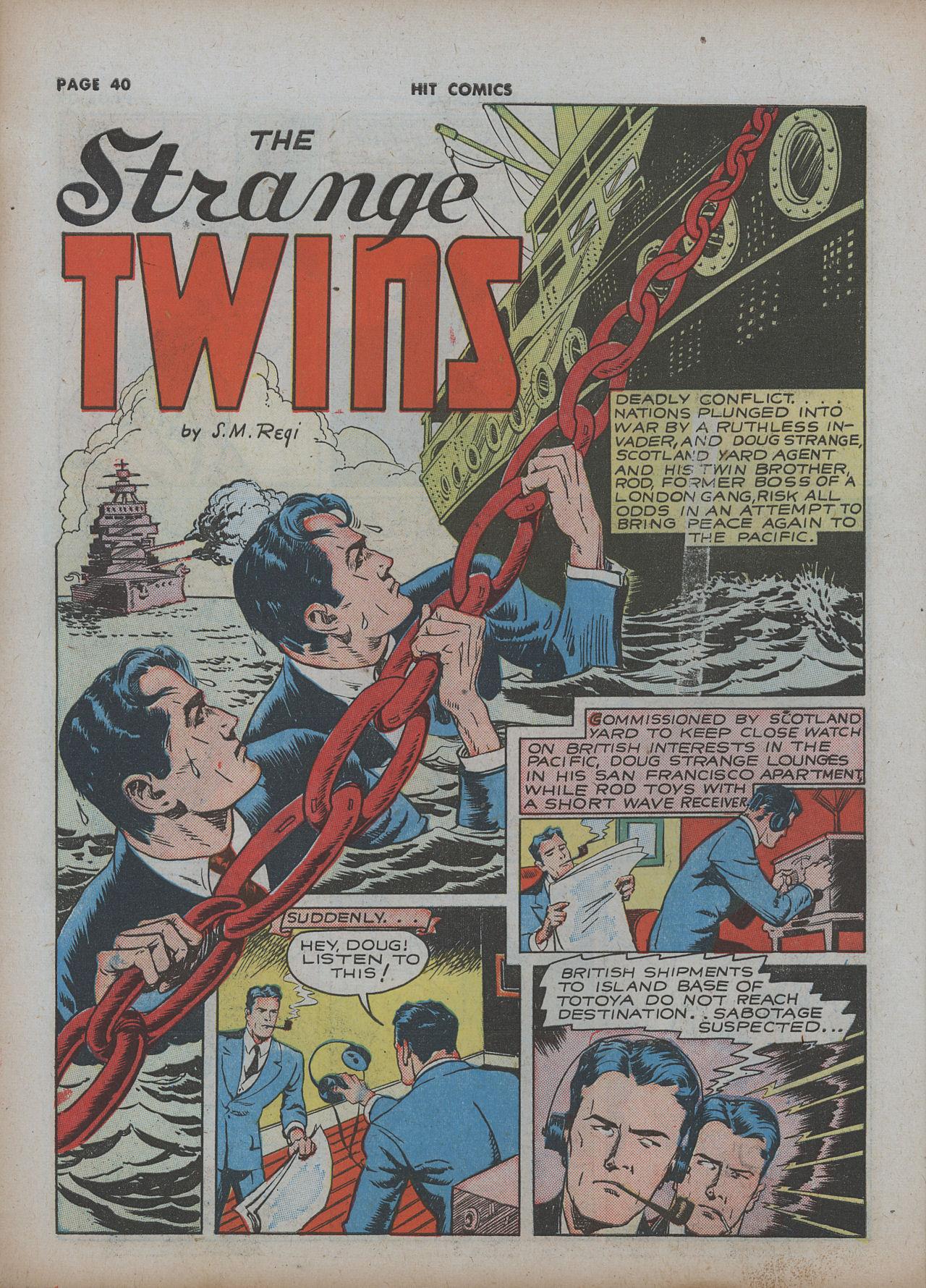 Read online Hit Comics comic -  Issue #22 - 42