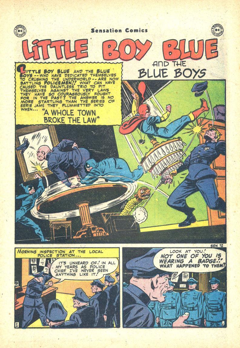 Read online Sensation (Mystery) Comics comic -  Issue #68 - 17