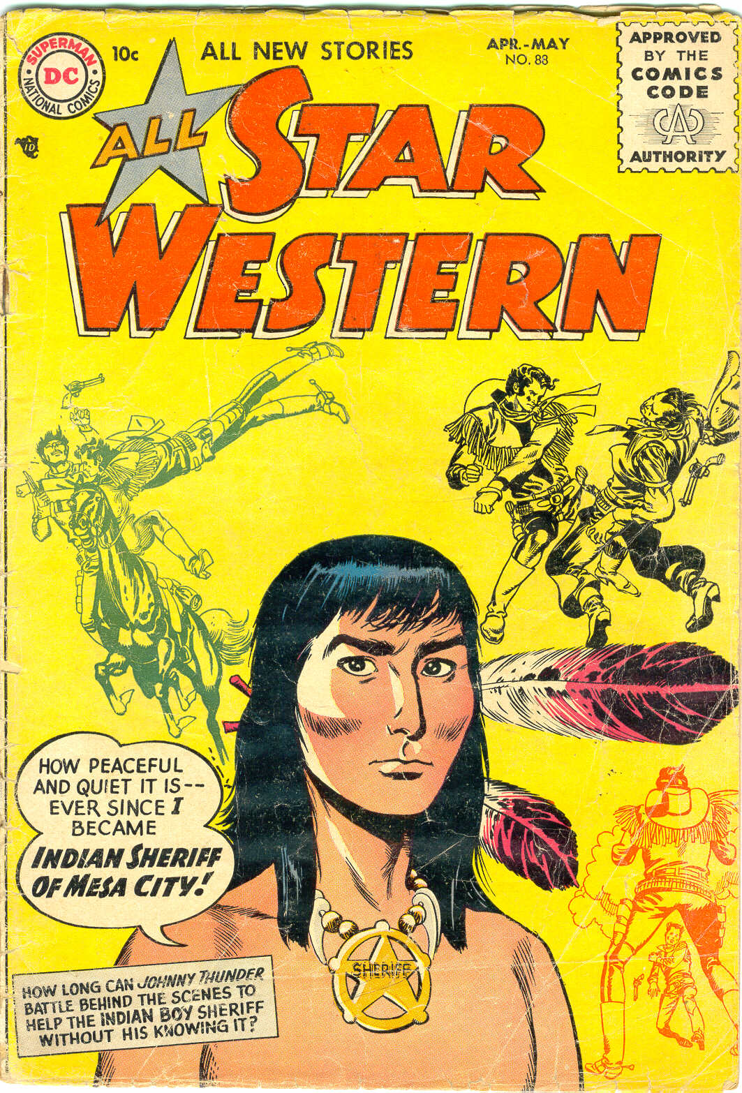Read online All-Star Western (1951) comic -  Issue #88 - 1