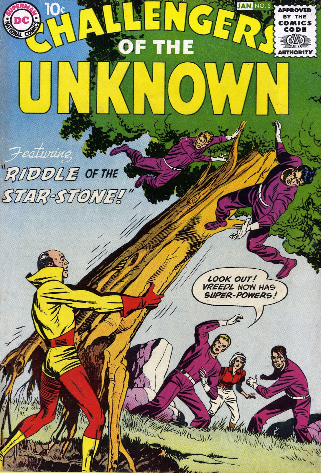 Challengers of the Unknown (1958) 5 Page 1