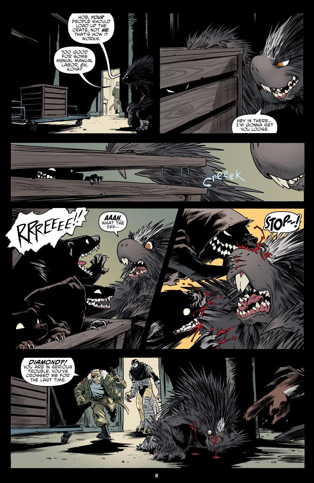 Read online Teenage Mutant Ninja Turtles (2011) comic -  Issue #102 - 20