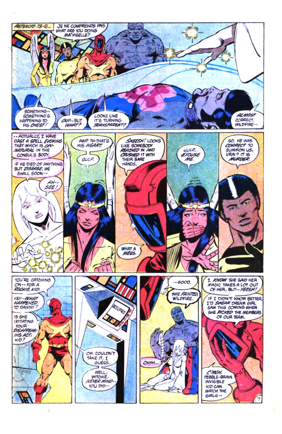 Legion of Super-Heroes (1980) 298 Page 7