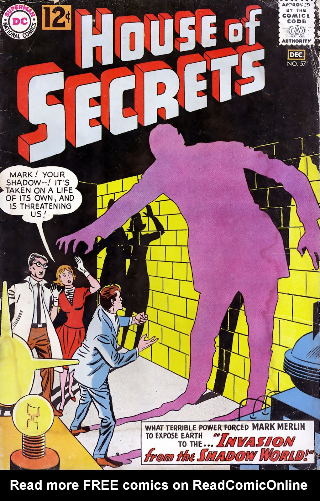 House of Secrets (1956) issue 57 - Page 1