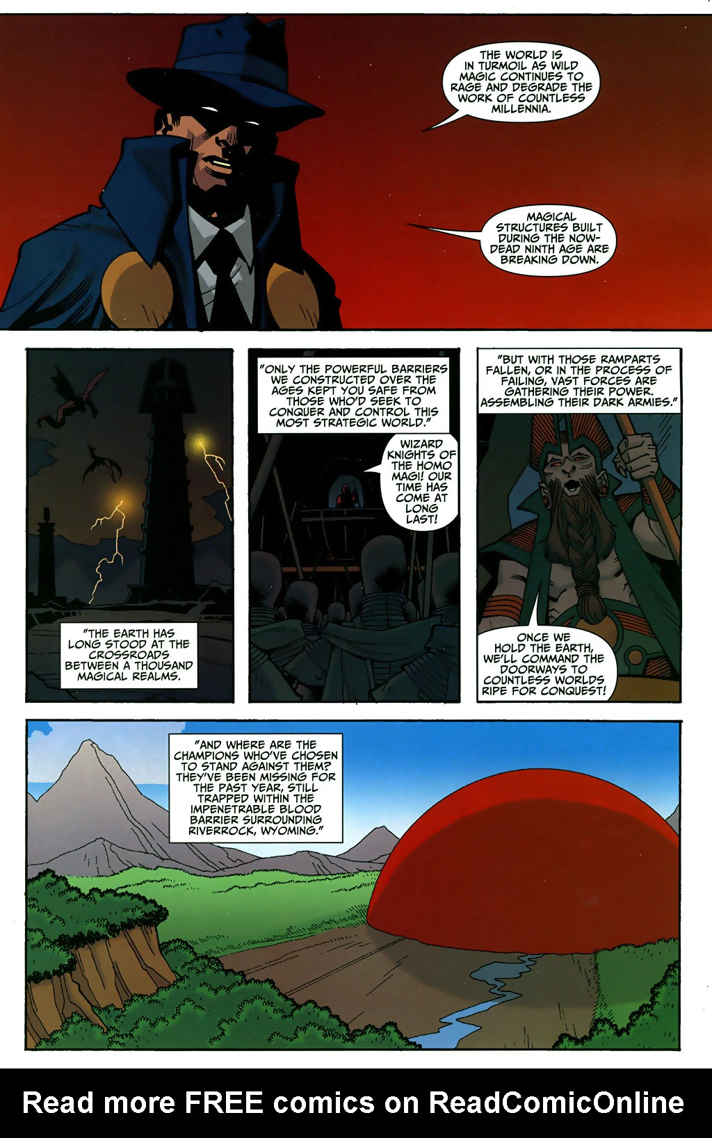 Read online Shadowpact comic -  Issue #3 - 2
