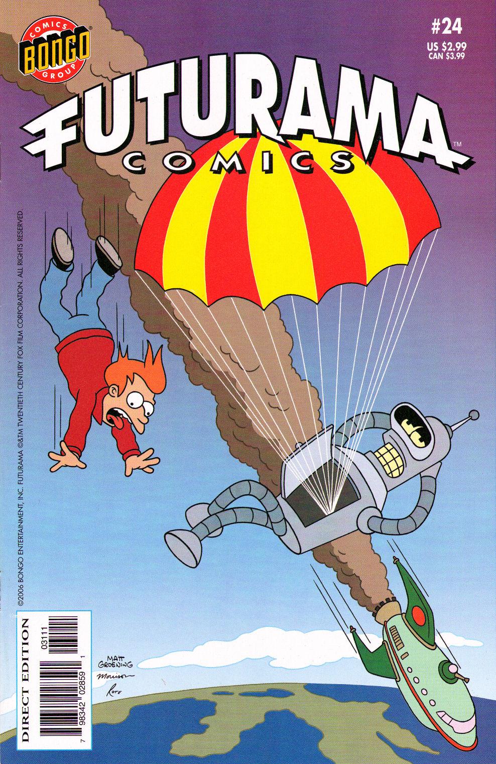 Futurama Comics issue 24 - Page 1
