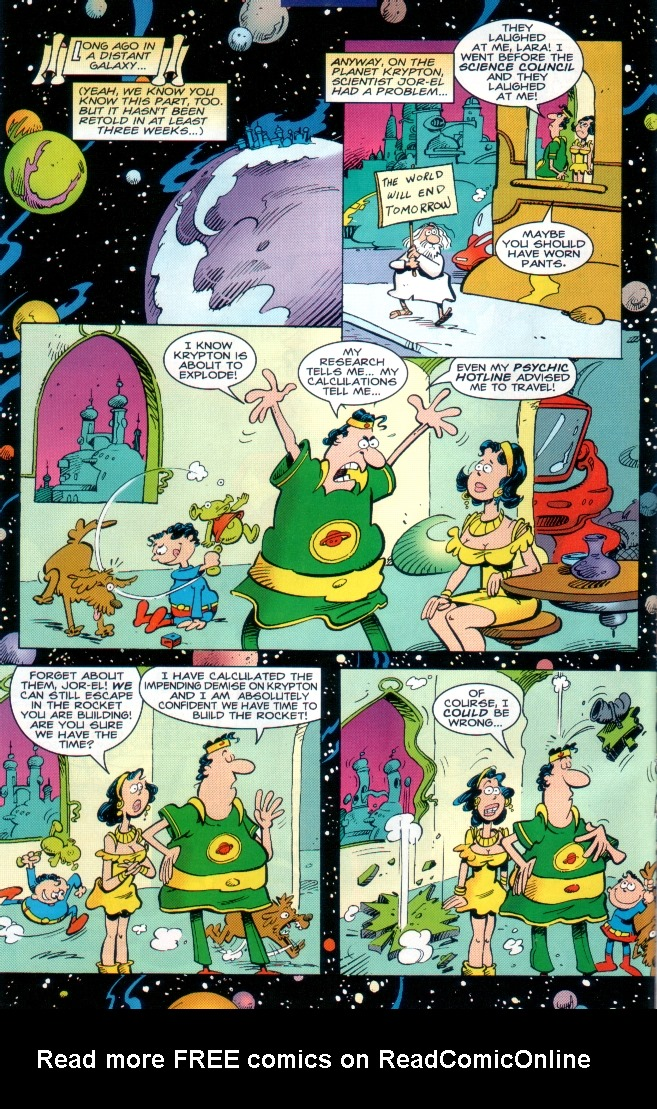 Read online Sergio Aragones Destroys DC comic -  Issue # Full - 7