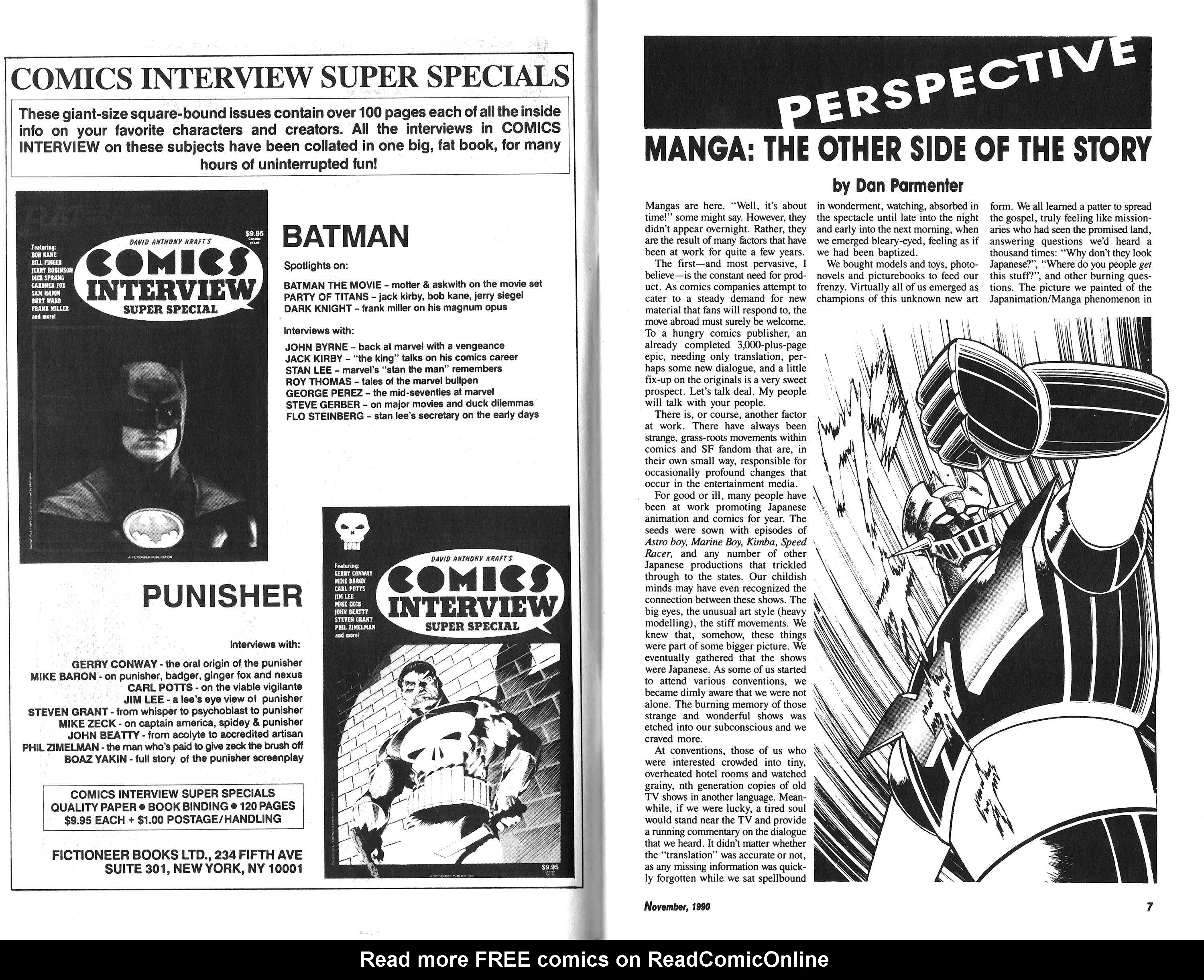 Read online Amazing Heroes comic -  Issue #185 - 4