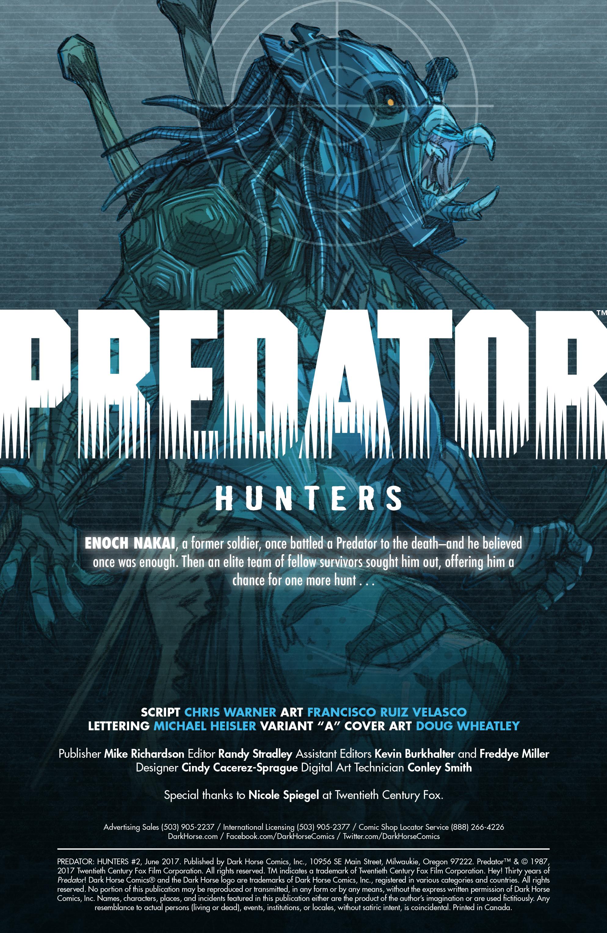 Read online Predator: Hunters comic -  Issue #2 - 3