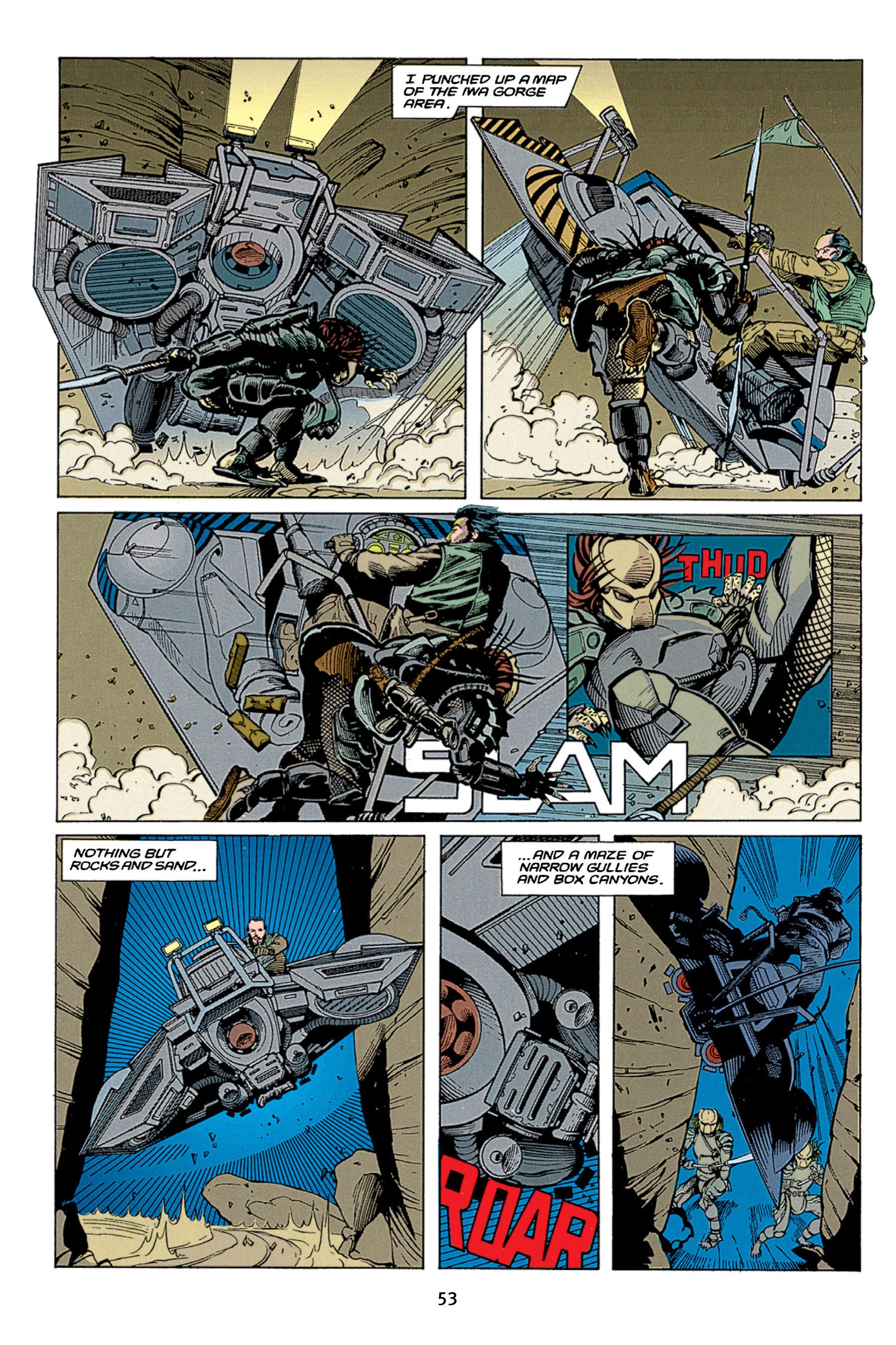 Read online Aliens vs. Predator Omnibus comic -  Issue # _TPB 1 Part 1 - 53