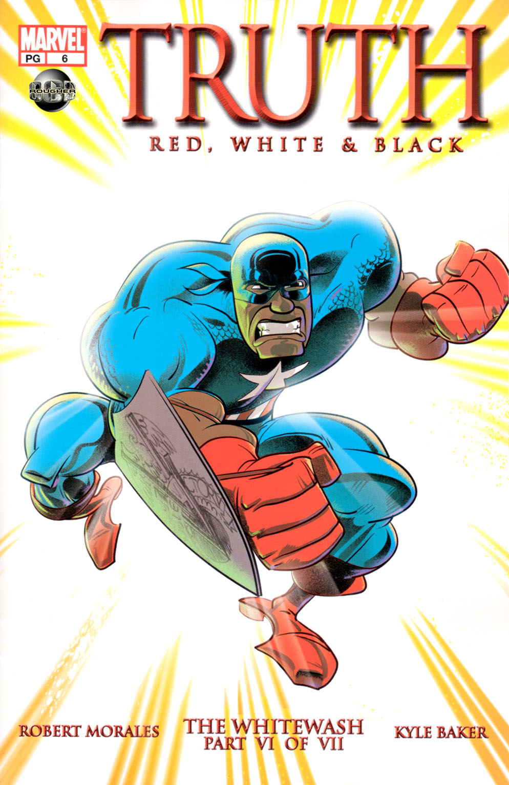 Read online Truth: Red, White & Black comic -  Issue #6 - 1