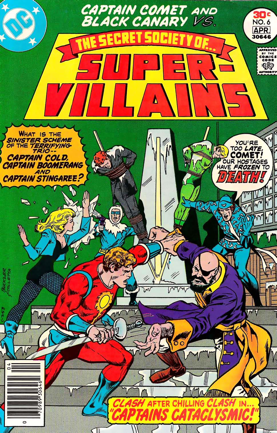 Read online Secret Society of Super-Villains comic -  Issue #6 - 1