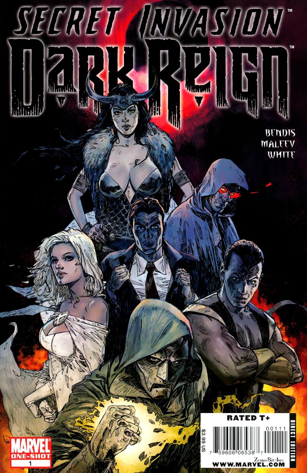 Secret Invasion: Dark Reign issue Full - Page 1