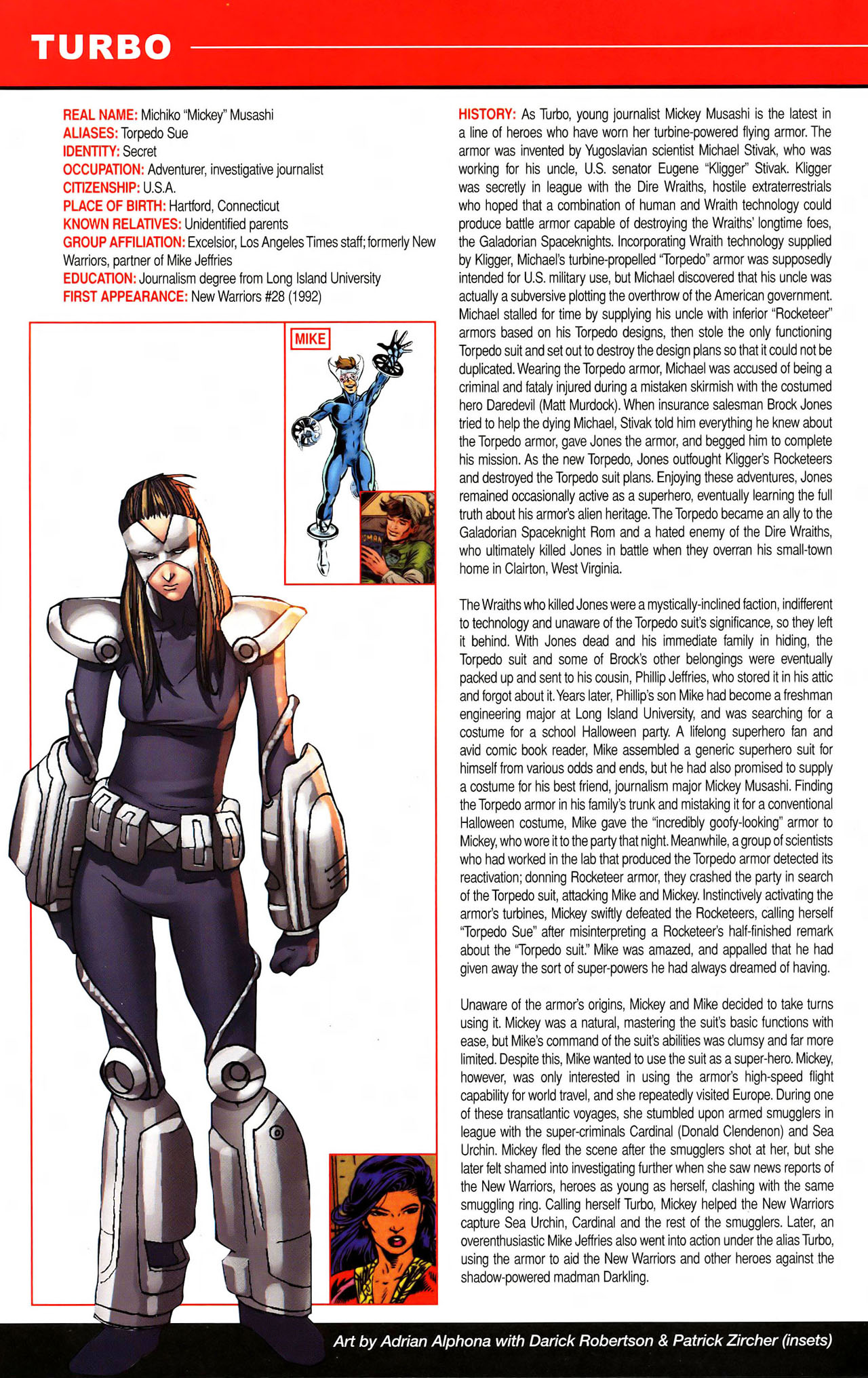 Read online All-New Official Handbook of the Marvel Universe A to Z comic -  Issue #11 - 58