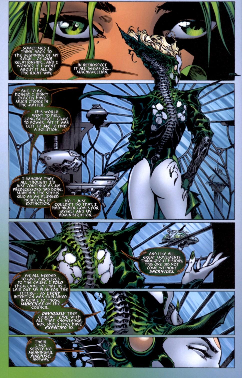 Read online Aphrodite IX (2000) comic -  Issue #4 - 17